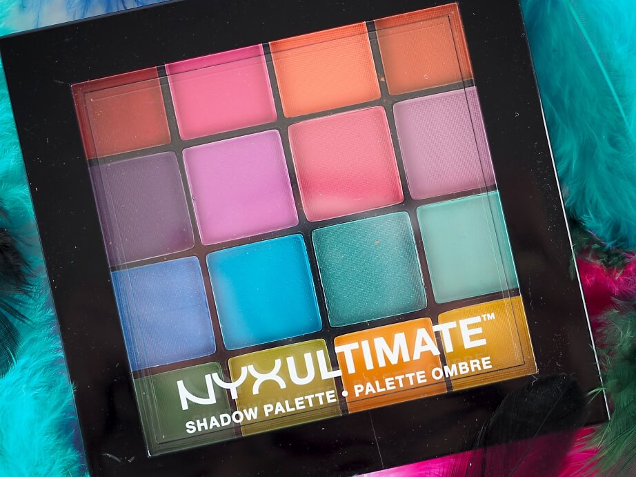 NYX ULTIMATE Shadow Palette BRIGHTS