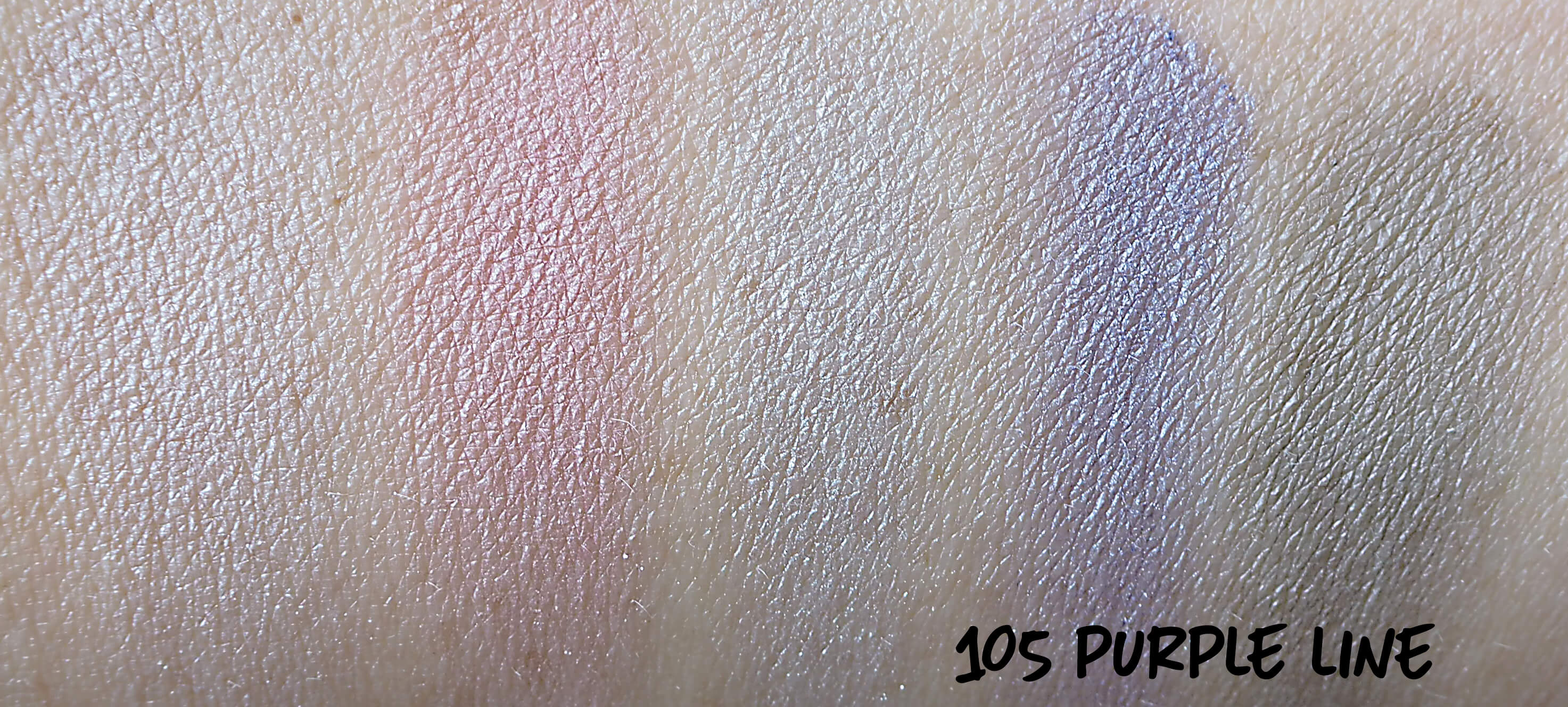Swatches Golden Rose 105 Purple LIne