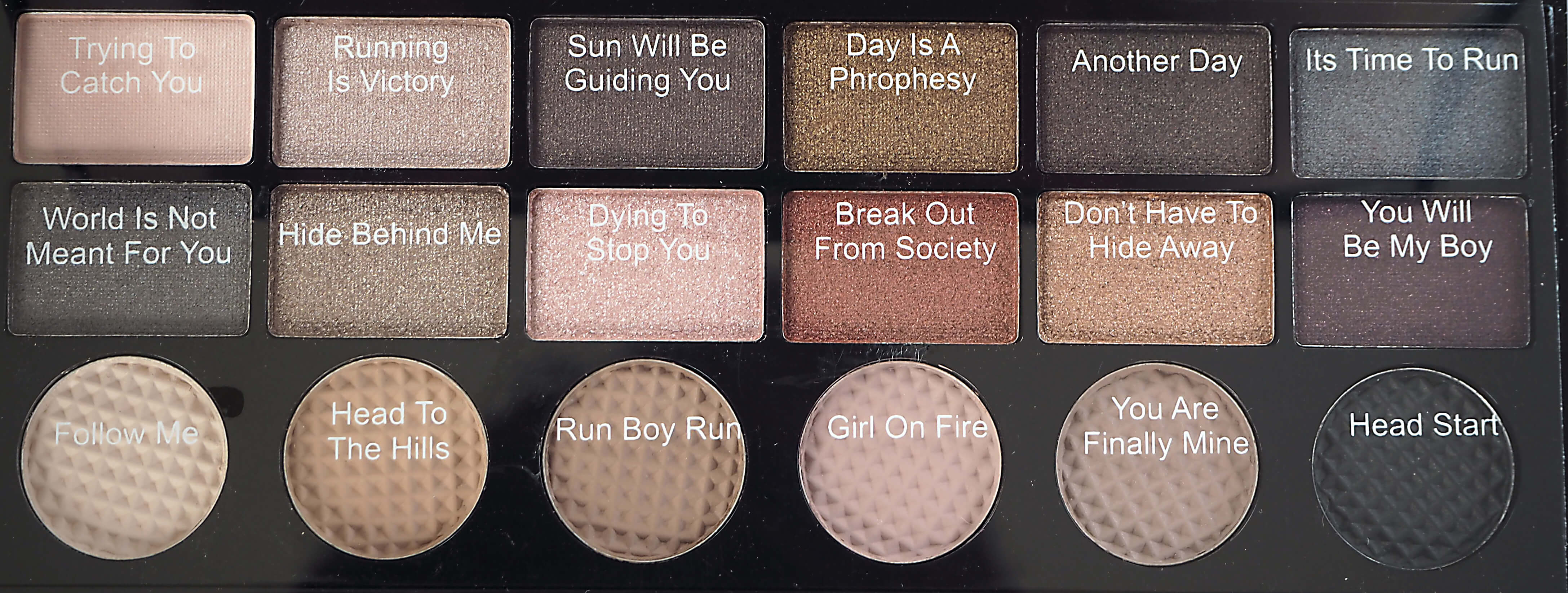 Recenzja MAKEUP REVOLUTION Run Boy Run
