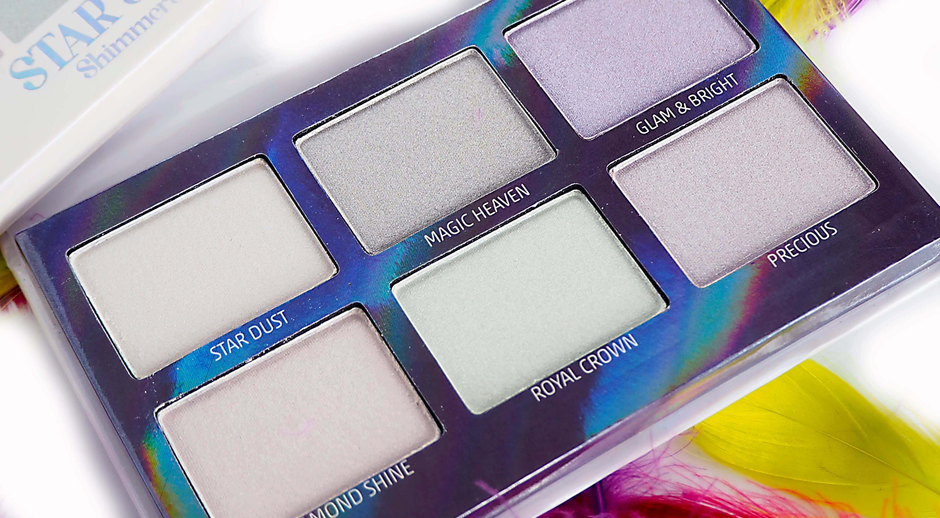Recenzja WIBO STAR SHINE Shimmers Kit