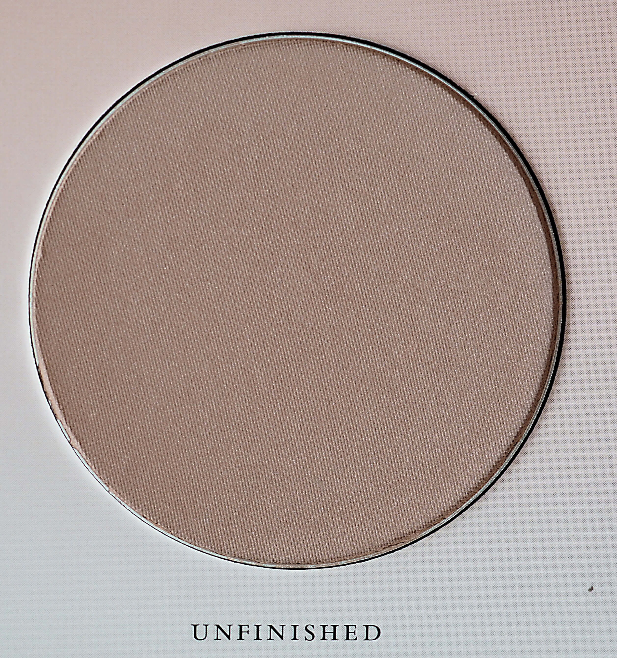 BRONZER UNFINISHED ZOEVA THE BASIC MOMENT BLUSH PALETTE