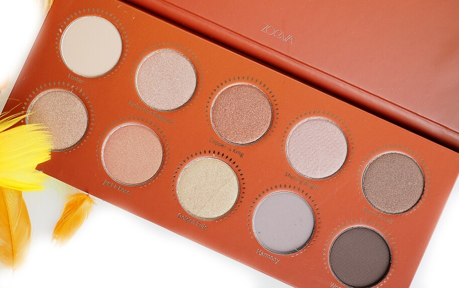 ZOEVA GOLDEN EYESHADOW PALETTE