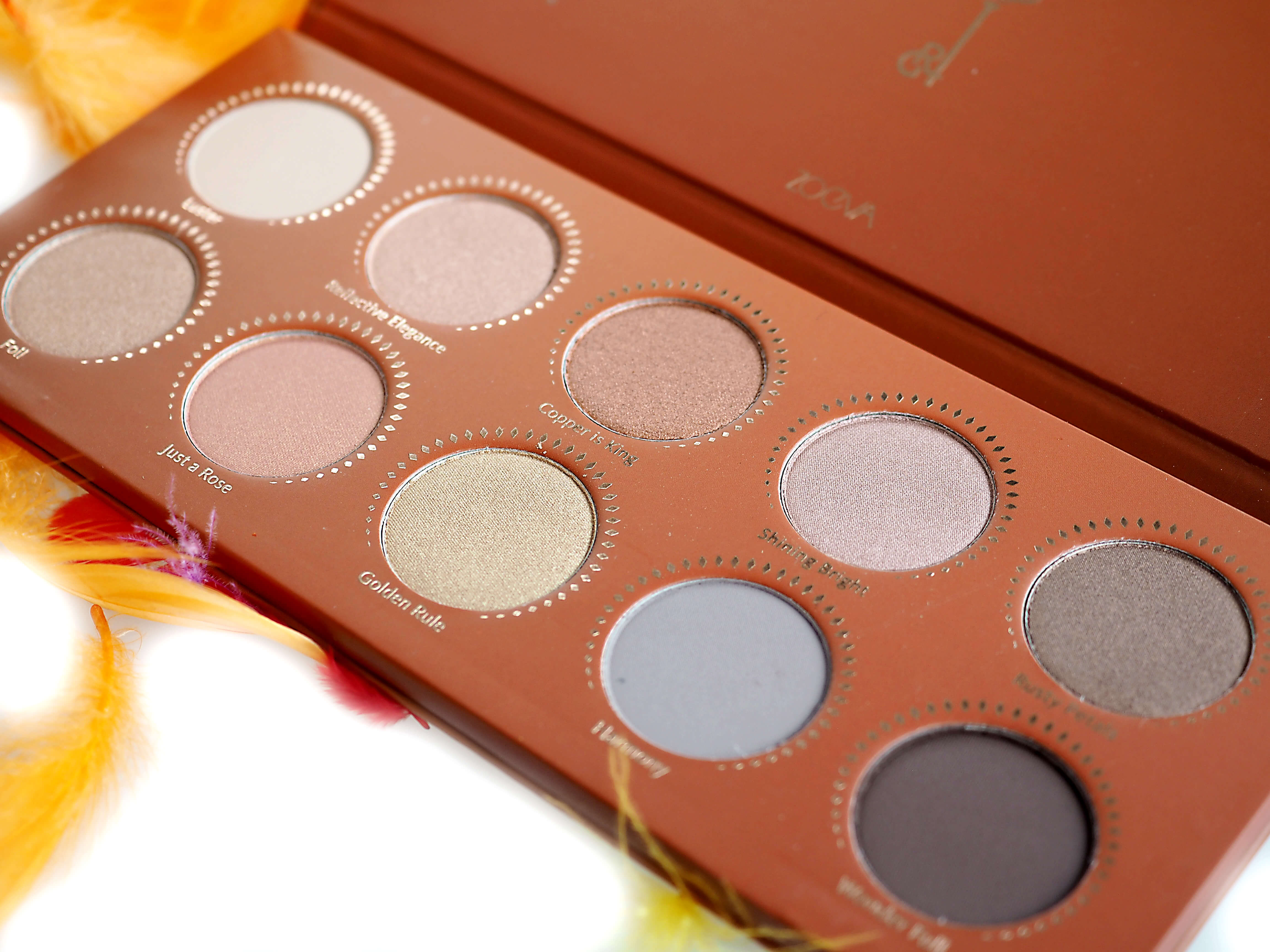 Opinia ZOEVA GOLDEN EYESHADOW PALETTE