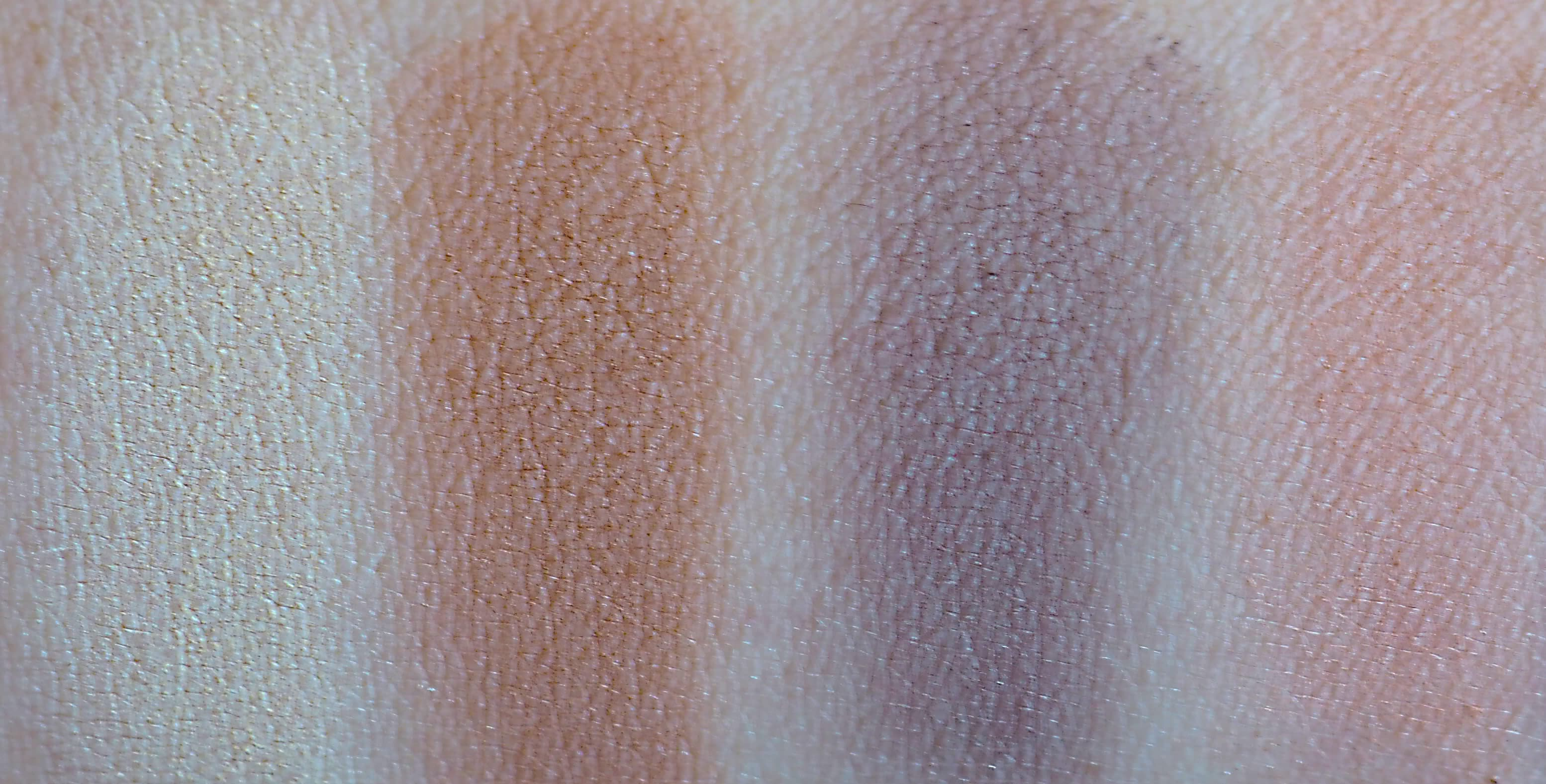 Swatches MAKEUP REVOLUTION ICONIC PRO 2