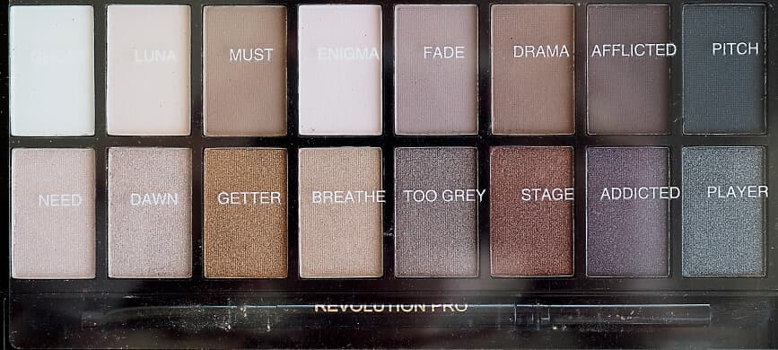 Test MAKEUP REVOLUTION ICONIC PRO 1