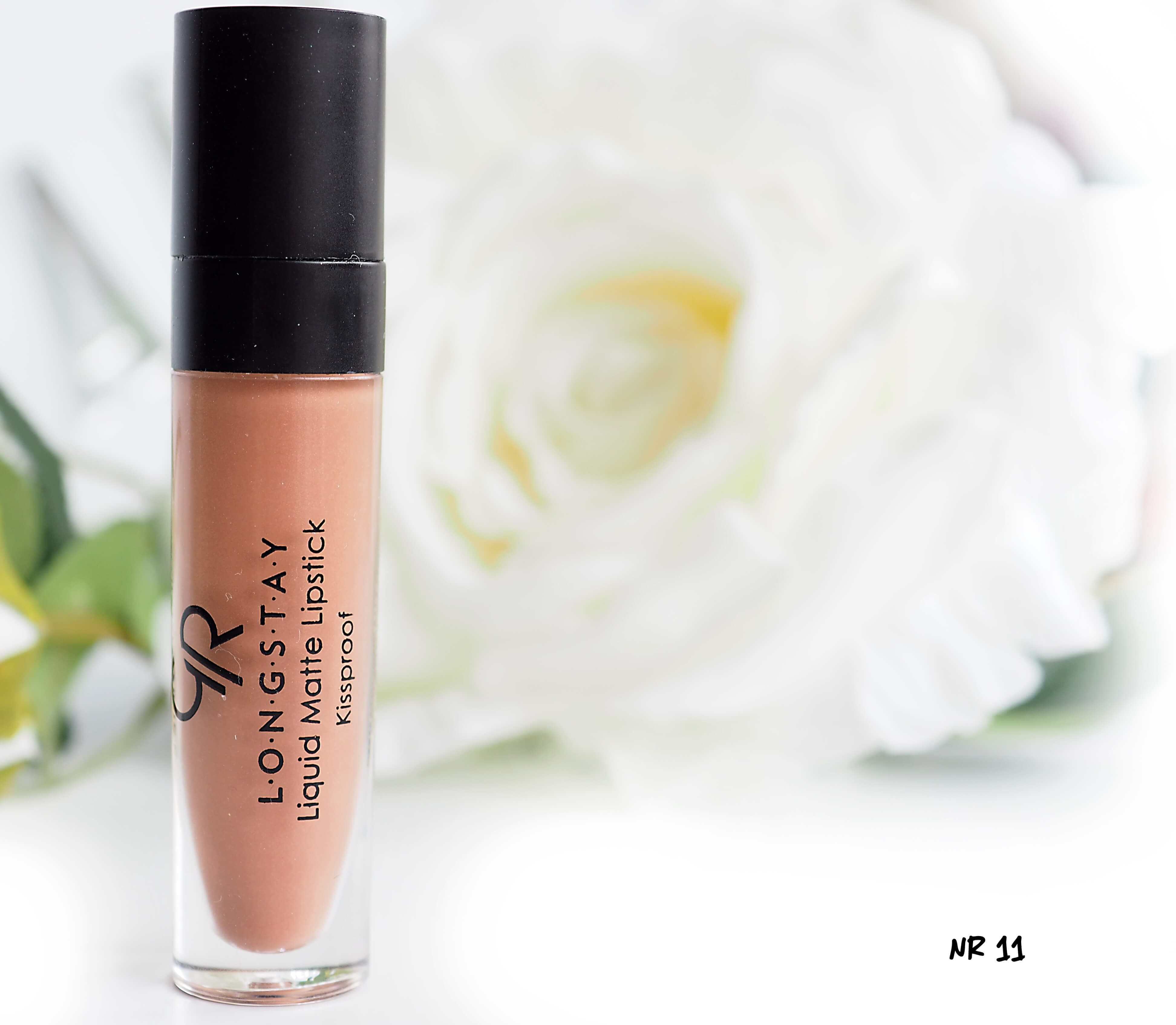 11 GOLDEN ROSE LONGSTAY LIQUID MATTE LIPSTICK