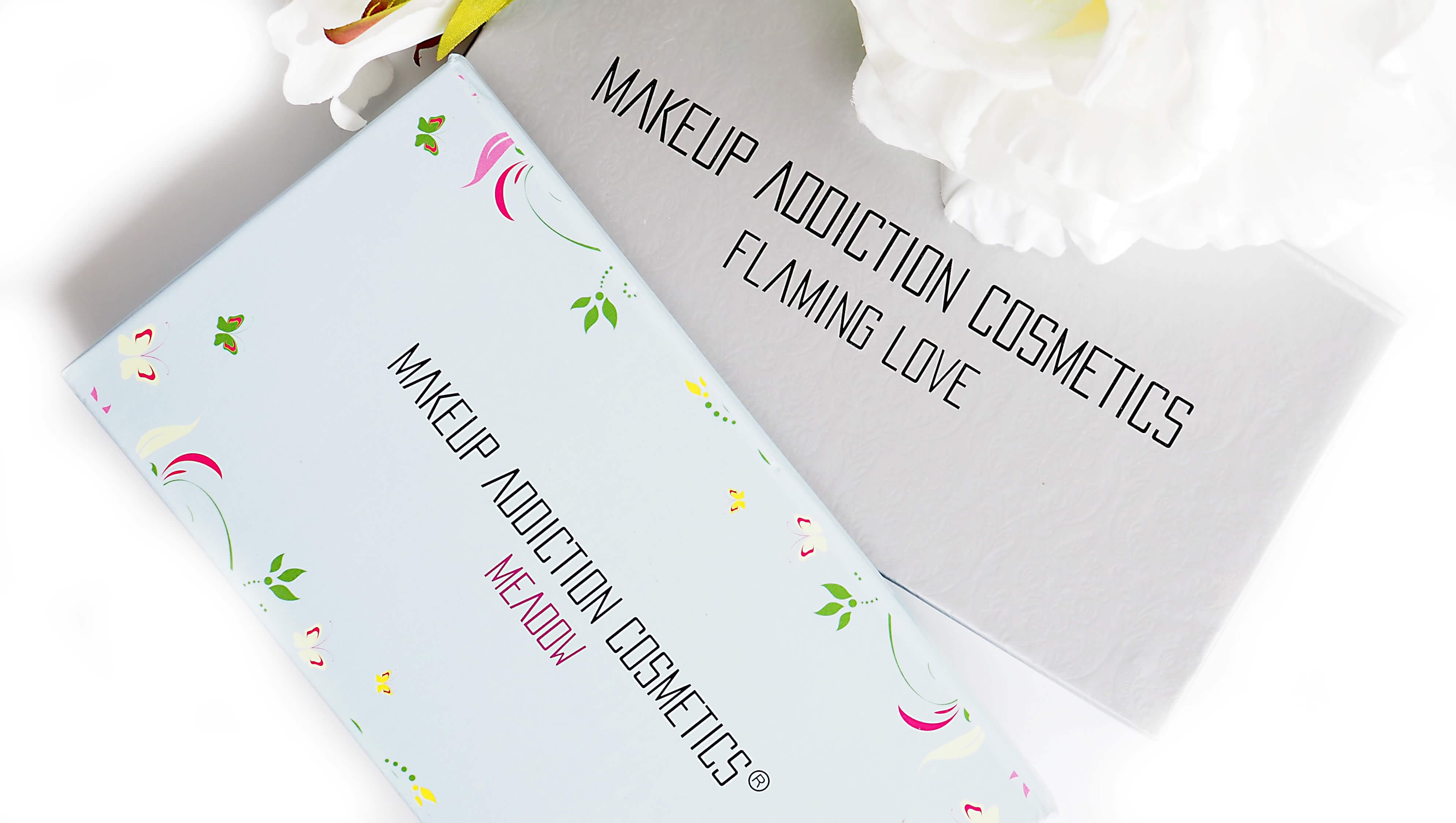 MAKEUP ADDICTION FLAMING LOVE vs MEADOW
