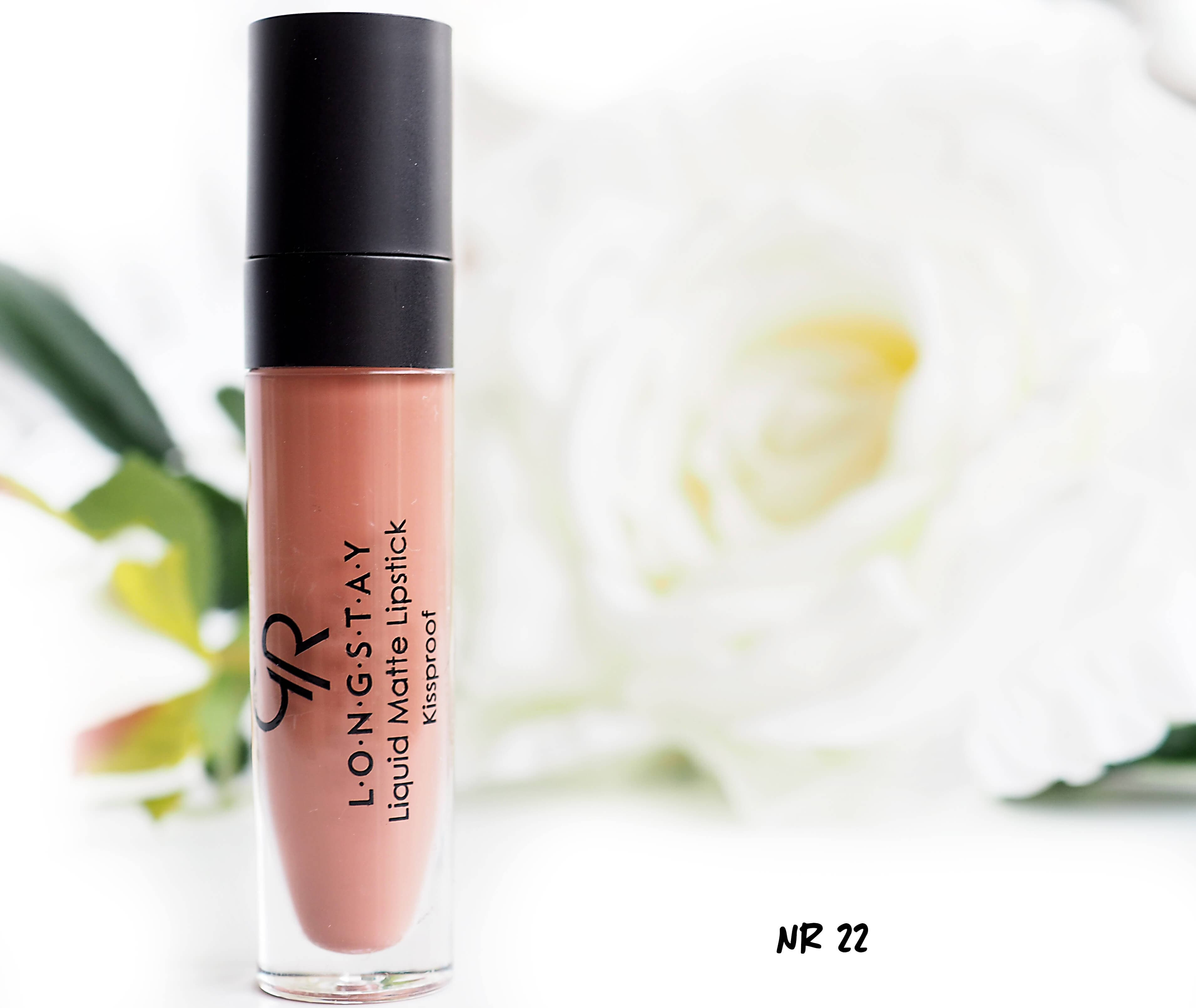 22 GOLDEN ROSE LONGSTAY LIQUID MATTE LIPSTICK
