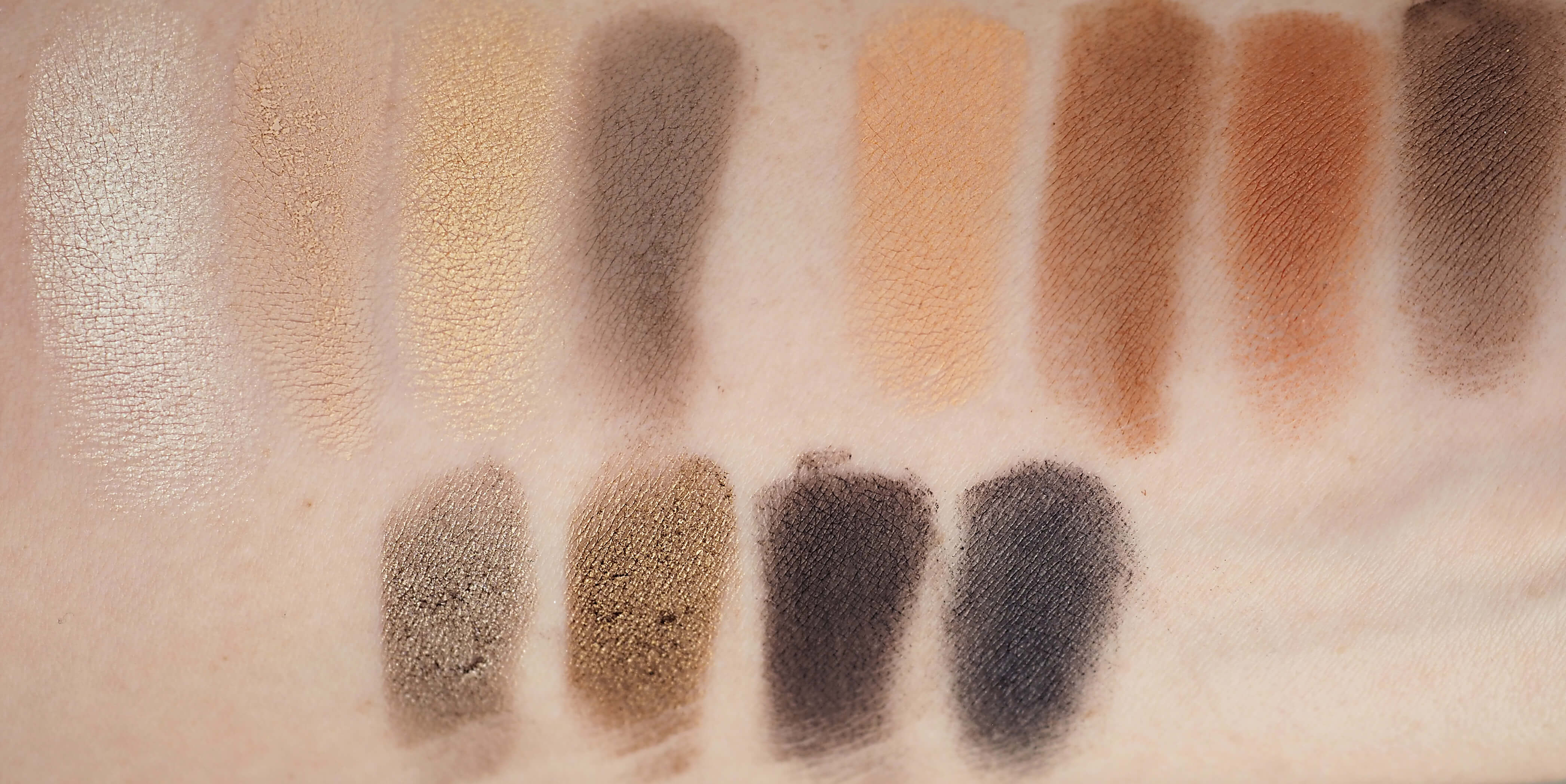 SWATCHES NARSissist LOADED EYESHADOW PALETTE