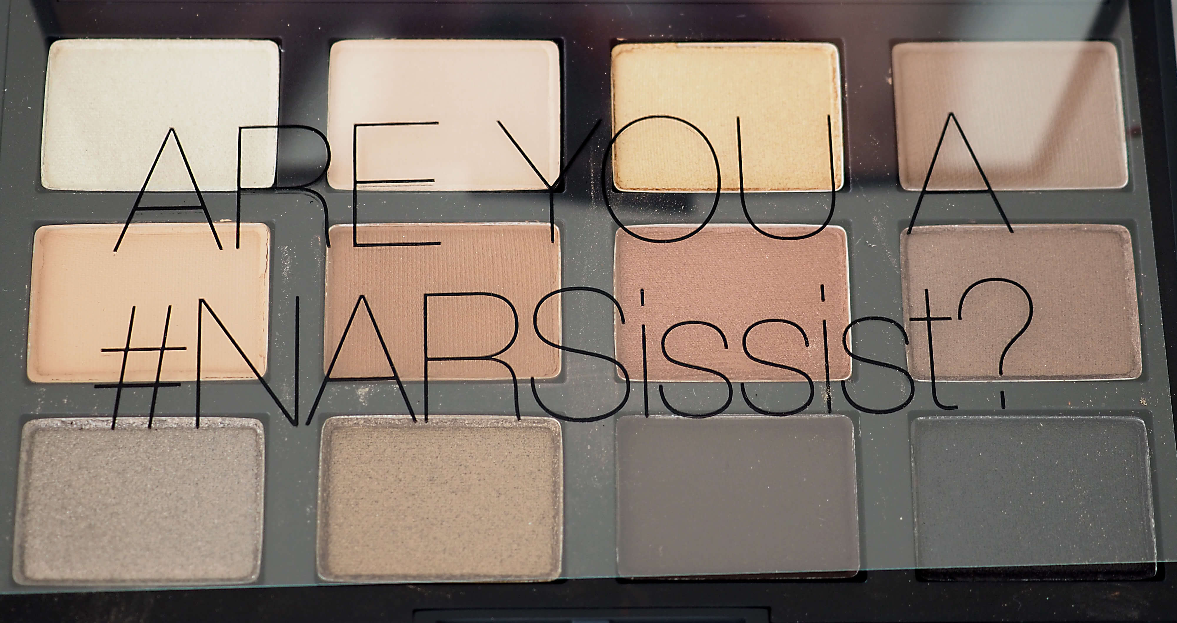 KOLORY NARSissist LOADED EYESHADOW PALETTE