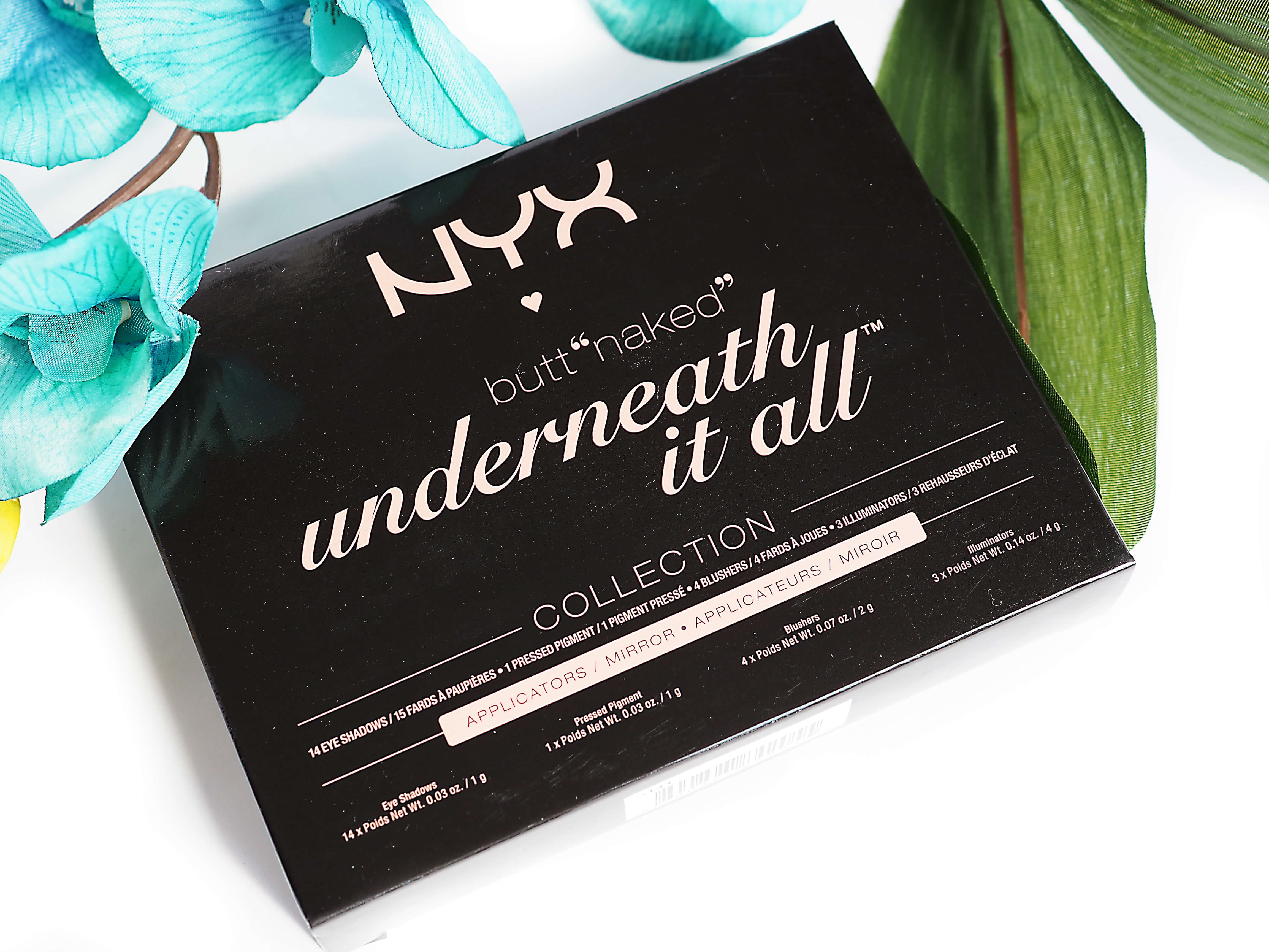 Test NYX BUTT NAKED UNDERNEATH IT ALL