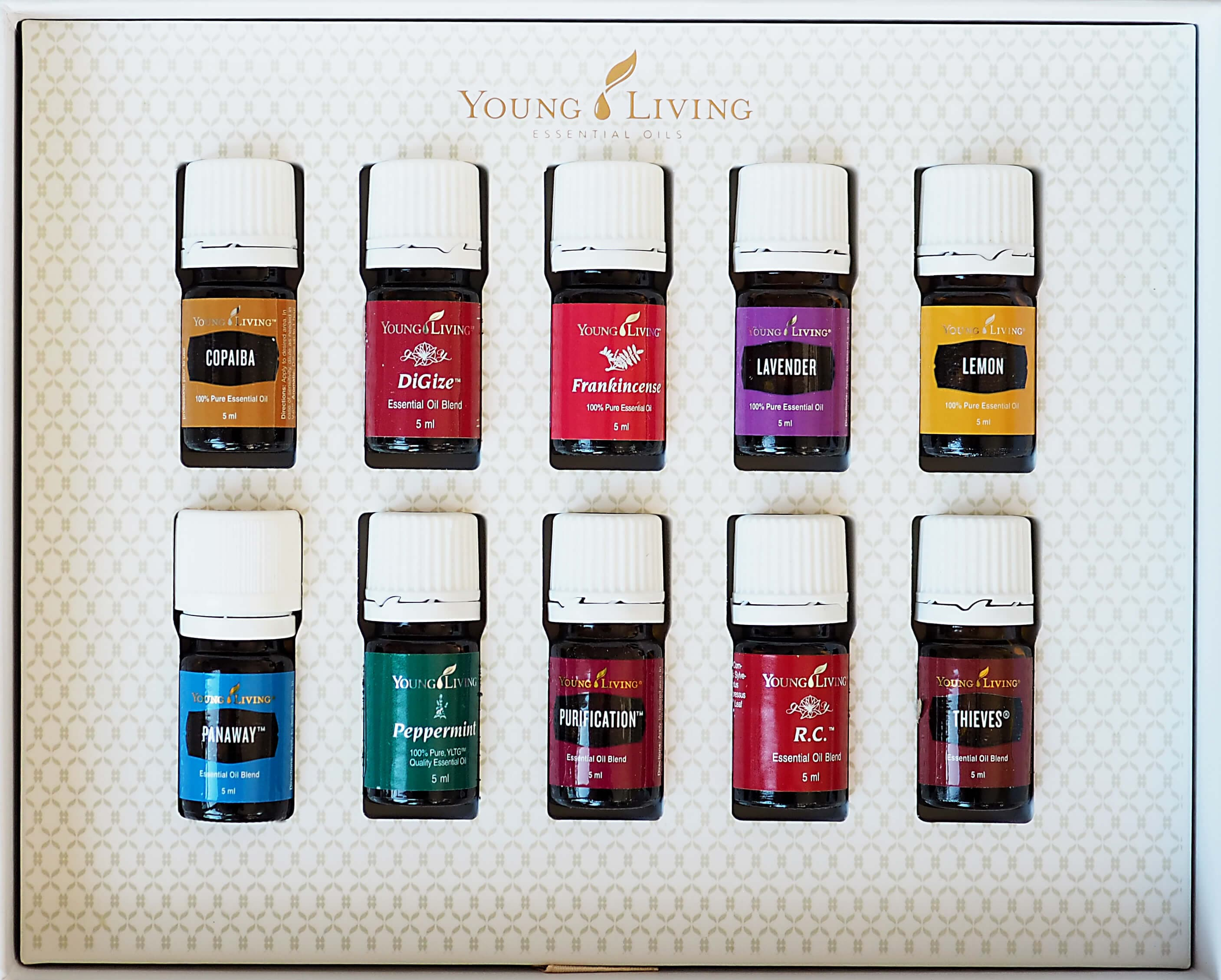 YOUNG LIVING AROMATERAPIA