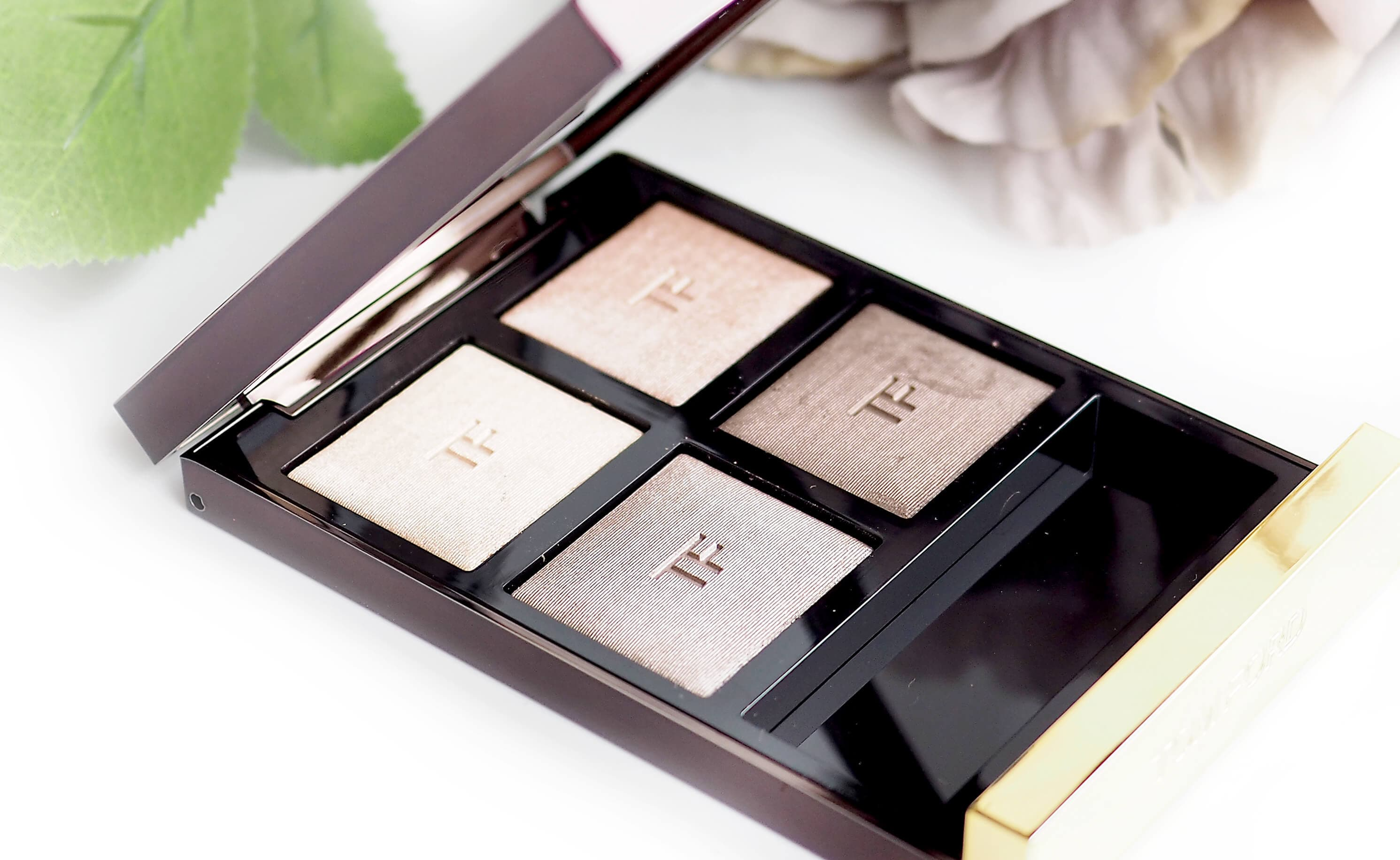 Recenzja TOM FORD EYE COLOR QUAD 03 NUDE DIP
