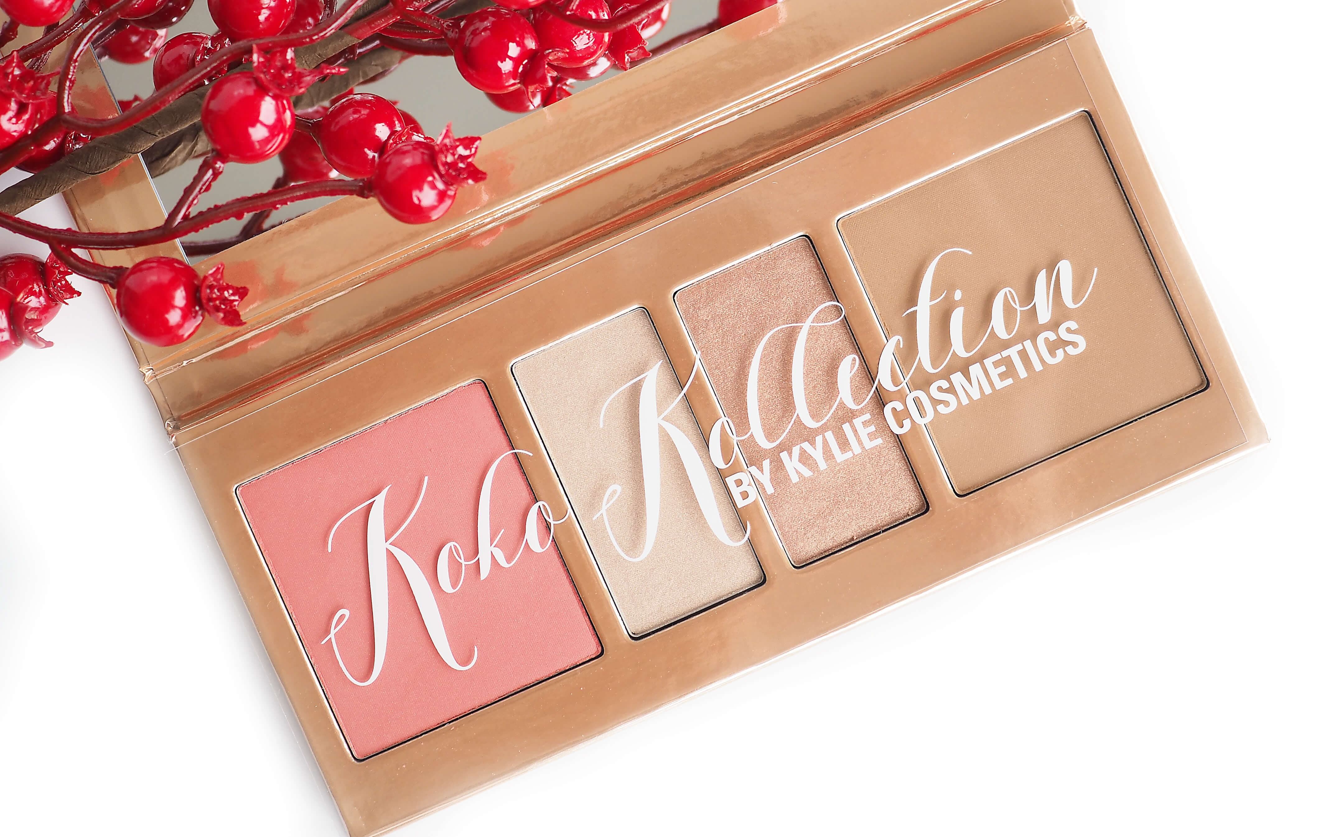 Opinia KYLIE COSMETICS KOKO KOLLECTION PRESSED POWDER PALETTE