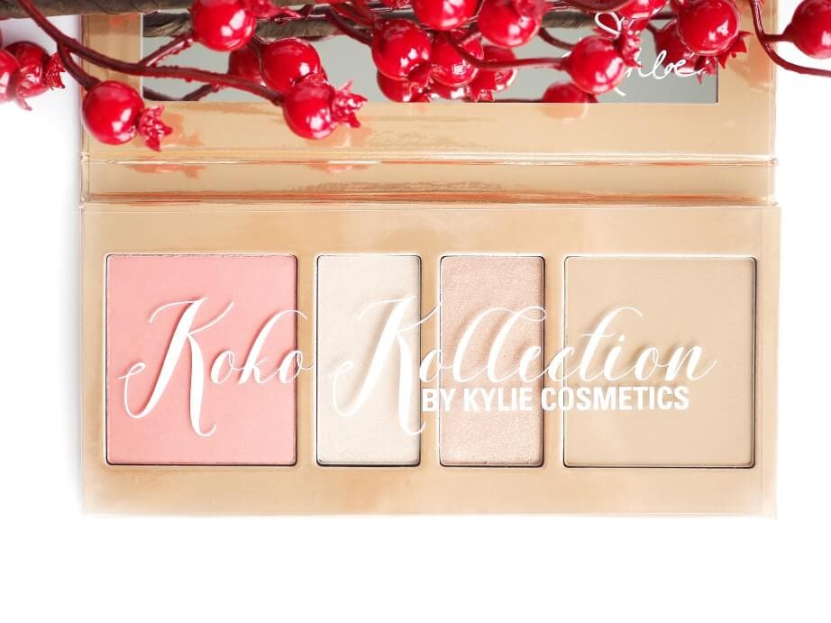 Recenzja KYLIE COSMETICS KOKO KOLLECTION PRESSED POWDER PALETTE
