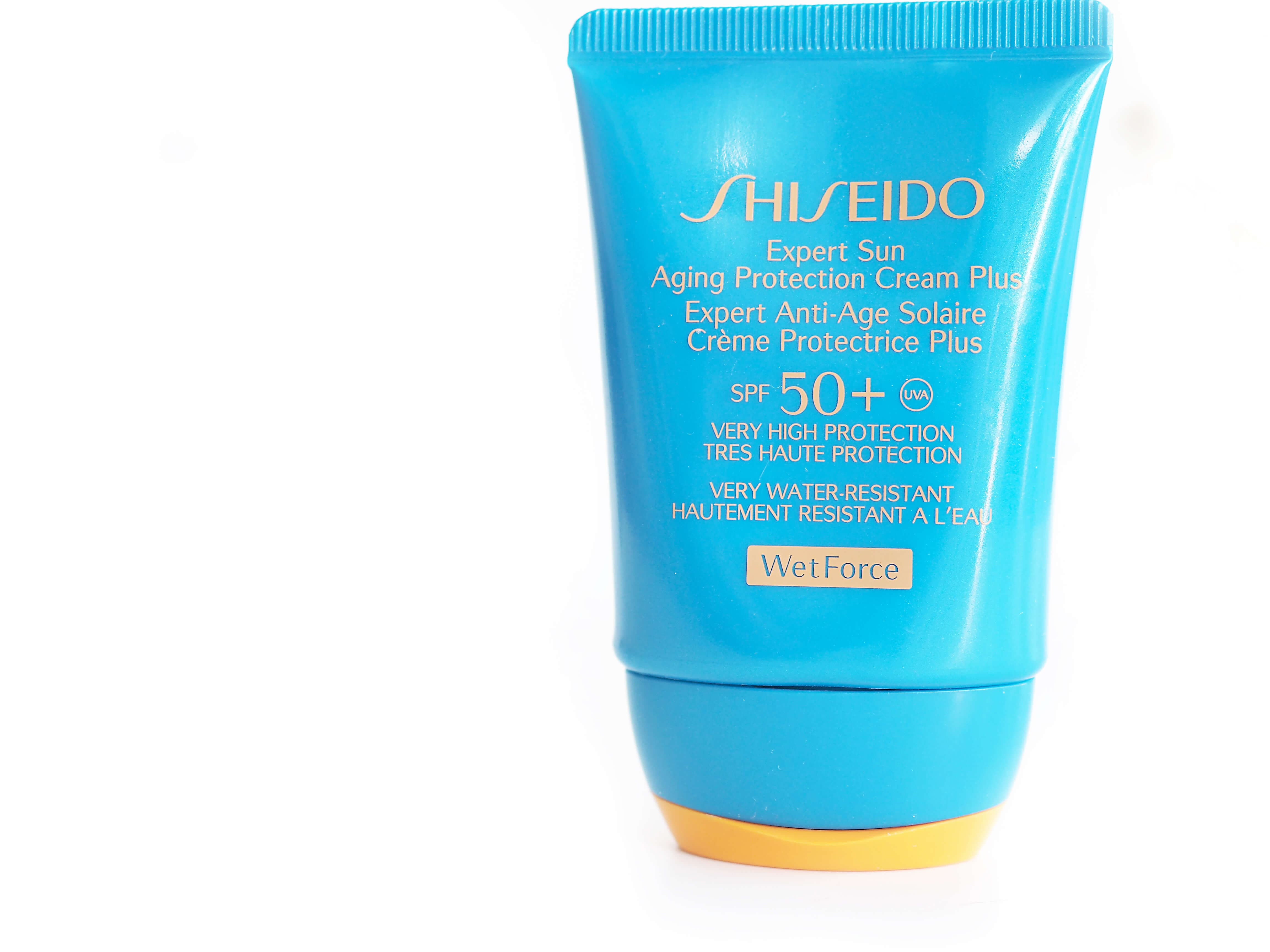 SHISEIDO Expert Sun Aging Protection Cream SPF50 WETFORCE
