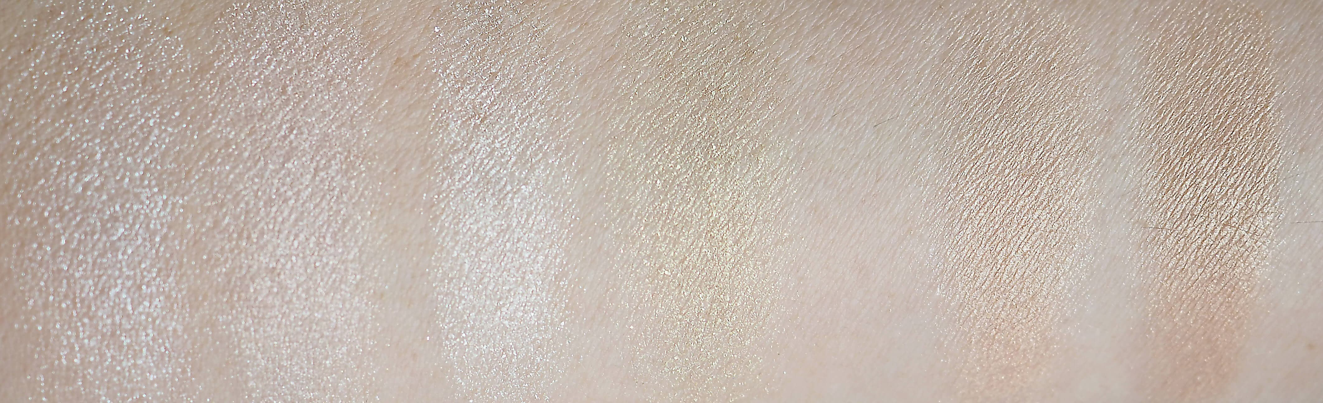 Test W7 GLOW FOR GLORY ILLUMINATING PALETTE