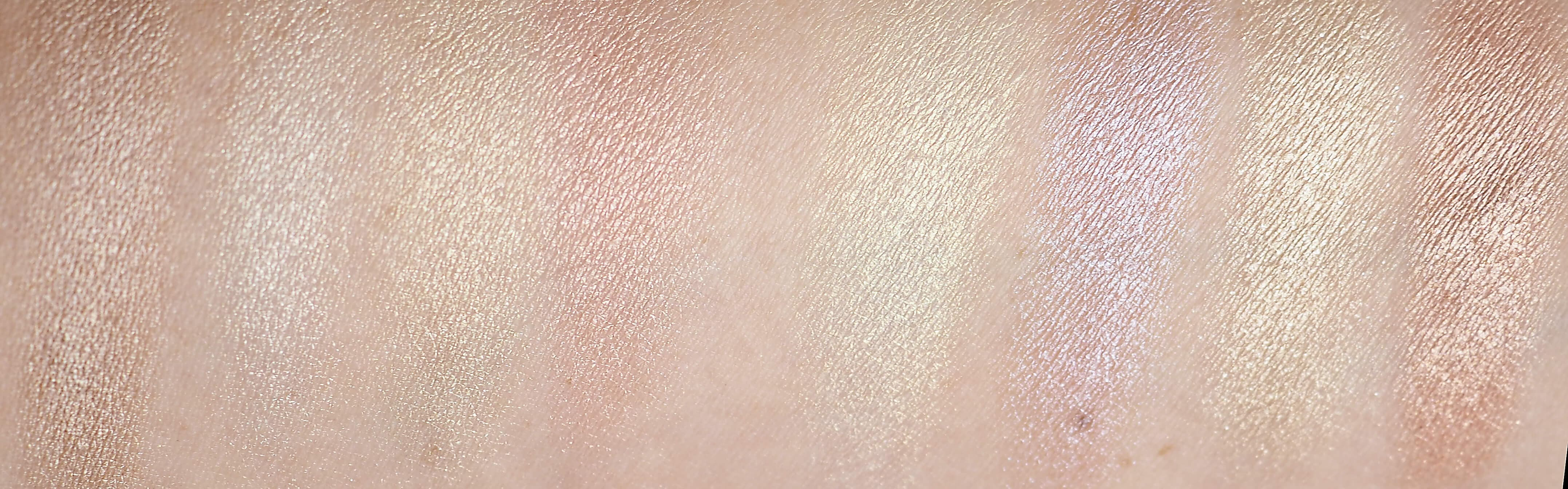 SWATCHES HUDA BEAUTY 3D HIGHLIGHTER
