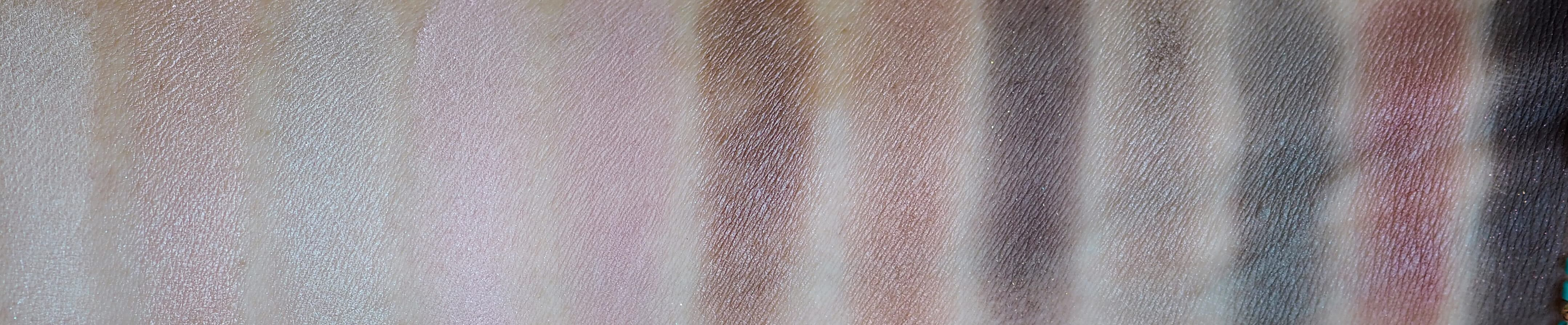 Swatches MAYBELLINE THE BLUSHED NUDES