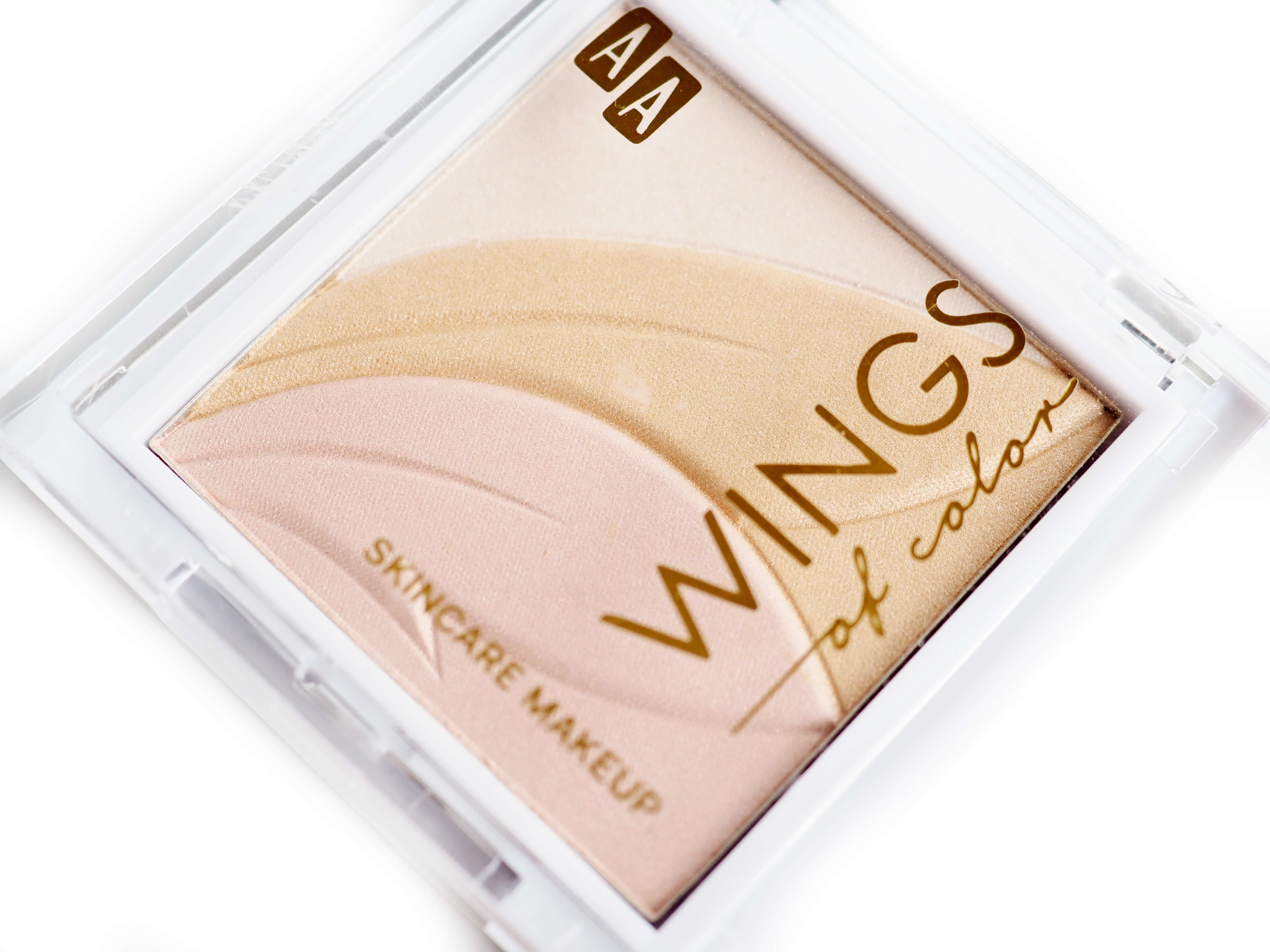 Test AA WINGS OF COLOR PRECIOUS HIGHLIGHTER