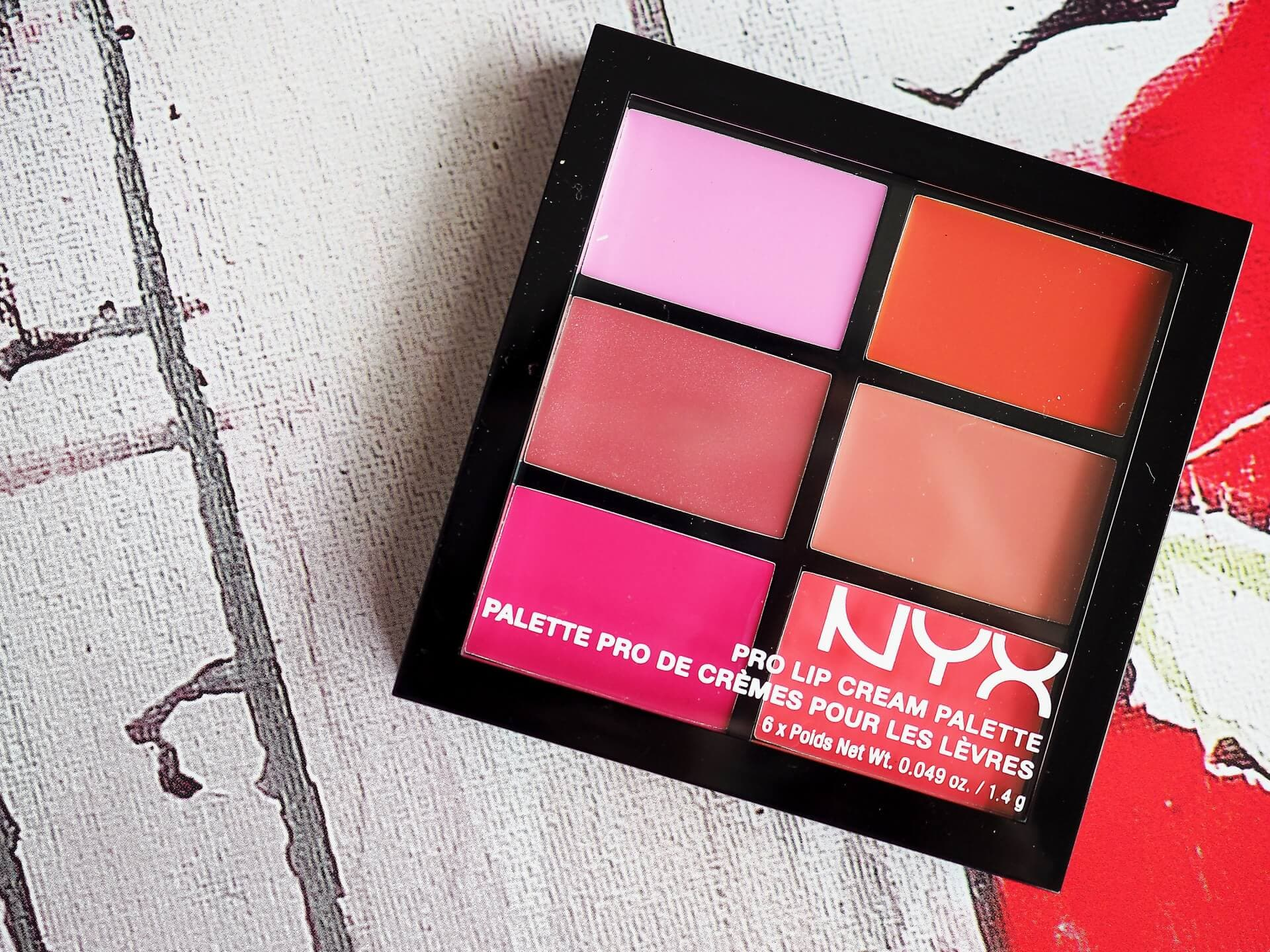Opinia NYX PRO LIP CREAM PALETTE THE PINKS