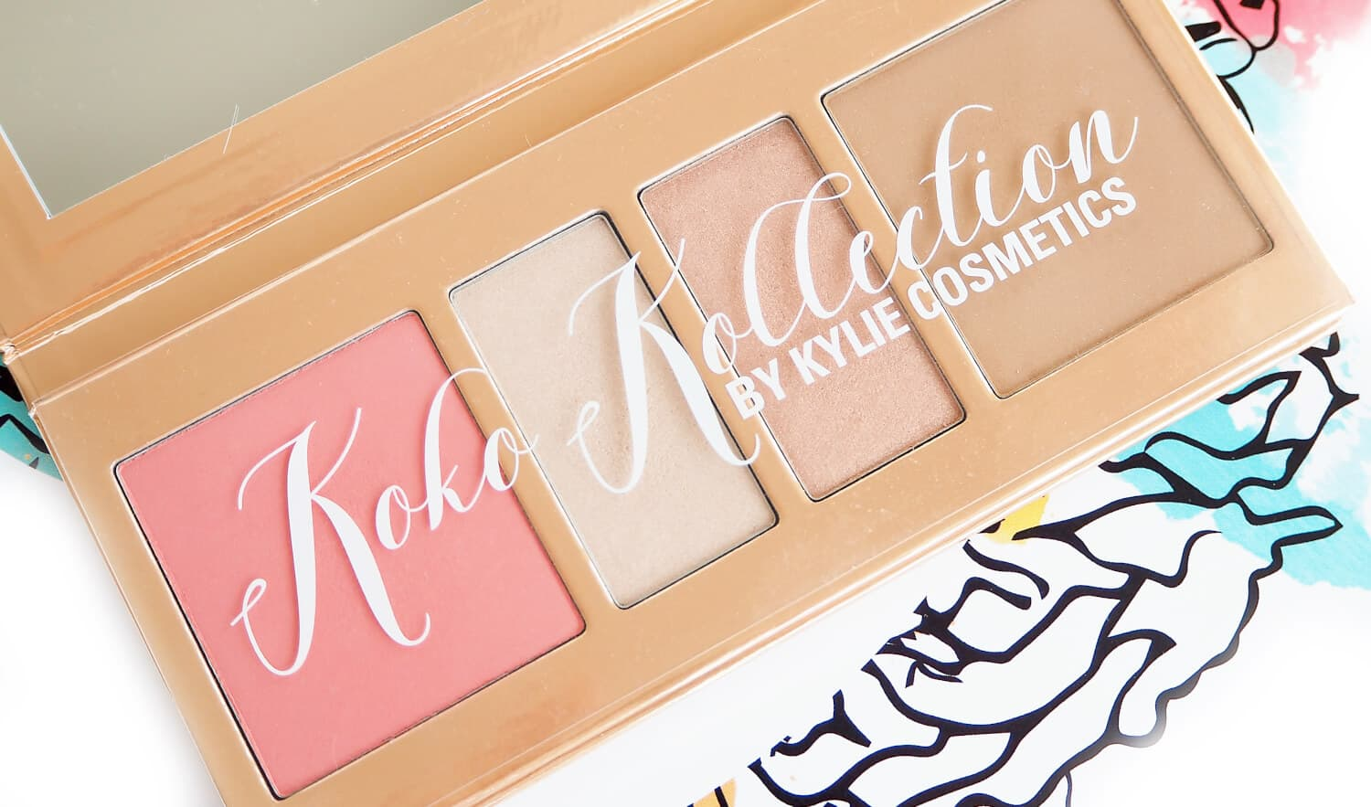 KOKO KOLLECTION PRESSED POWDER PALETTE BY KYLIE COSMETICS
