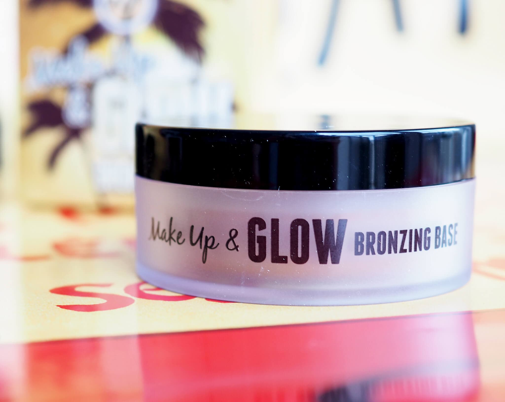 Test W7 MAKE UP and GLOW BRONZING BASE