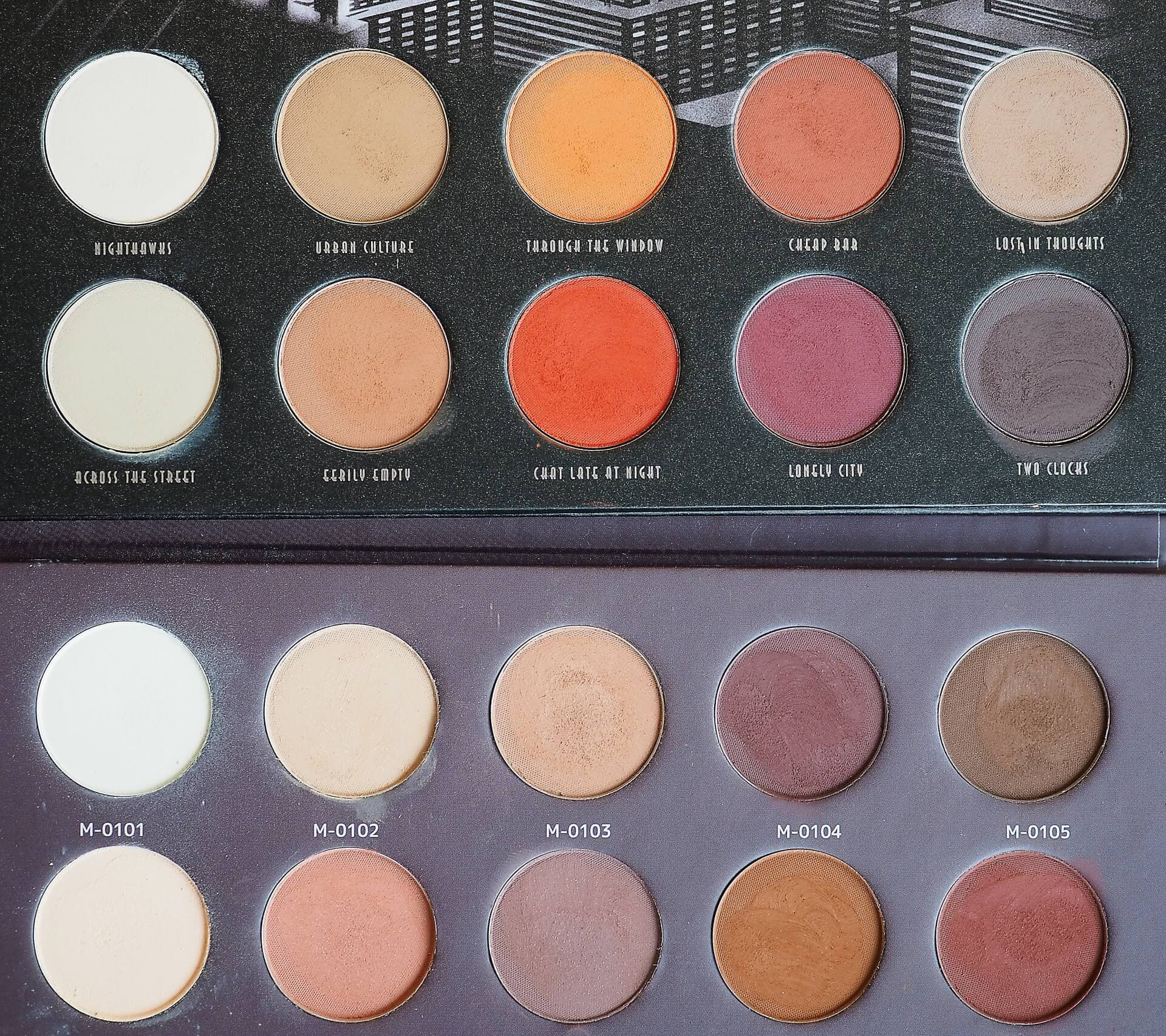 Zoeva Matte vs Affect Naturally Matte