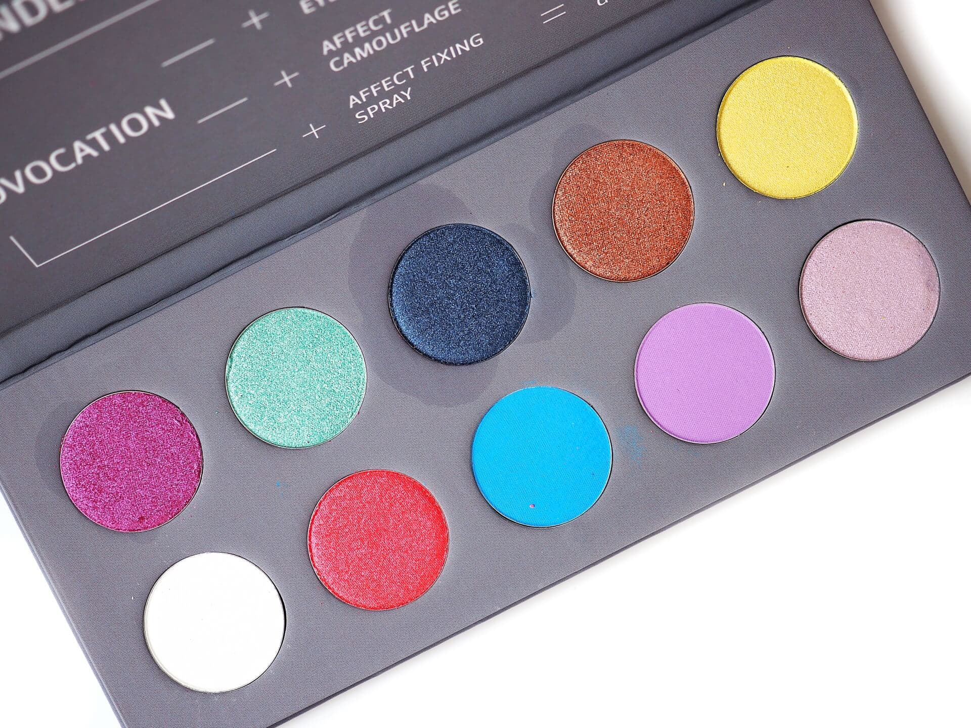 RECENZJA AFFECT PROVOCATION EYESHADOW PALETTE