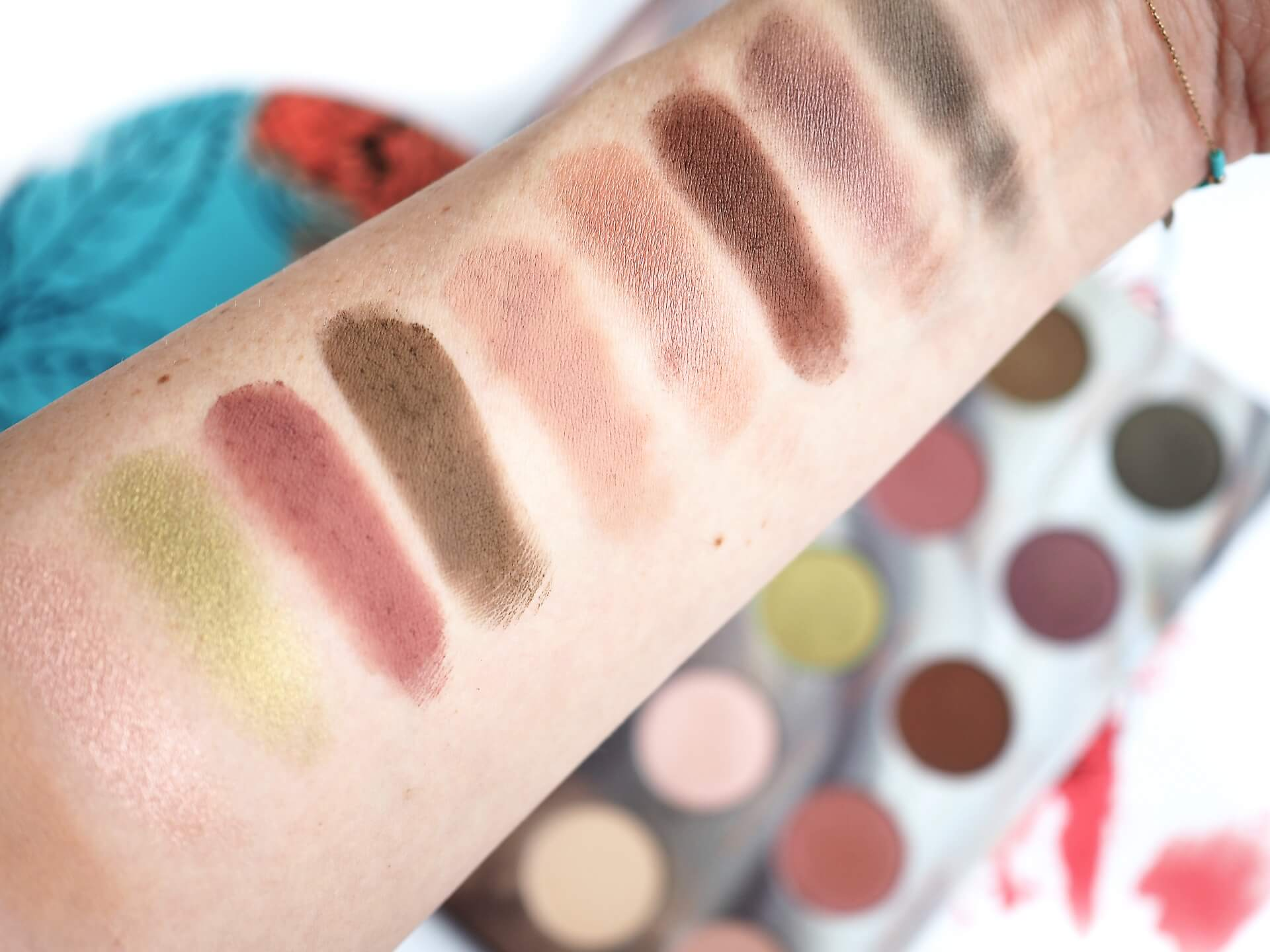 TEST ZOEVA CAFE EYESHADOW PALETTE