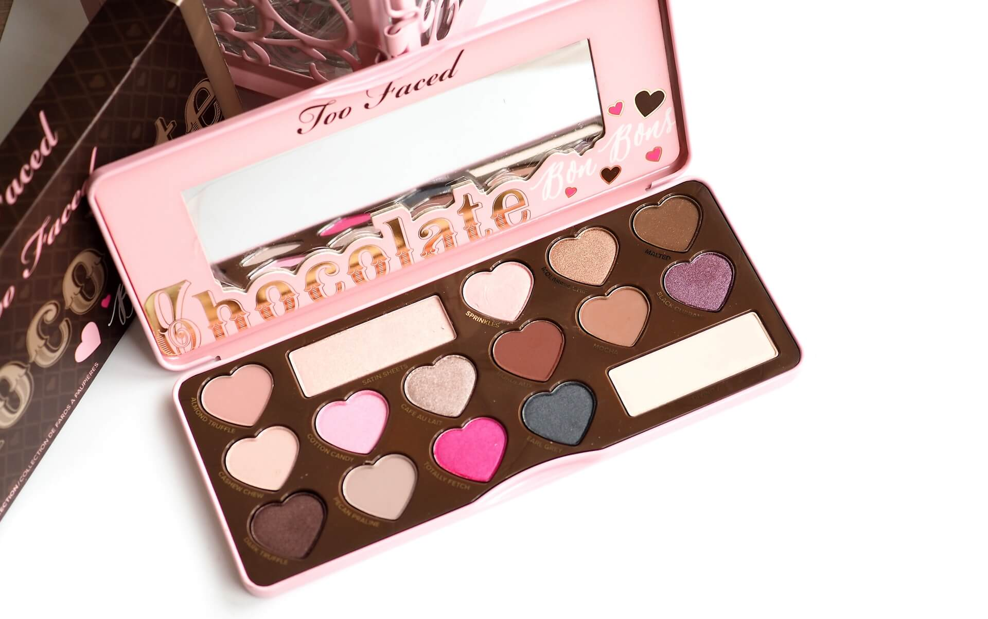RECENJZA TOO FACED CHOCOLATE BOB BON