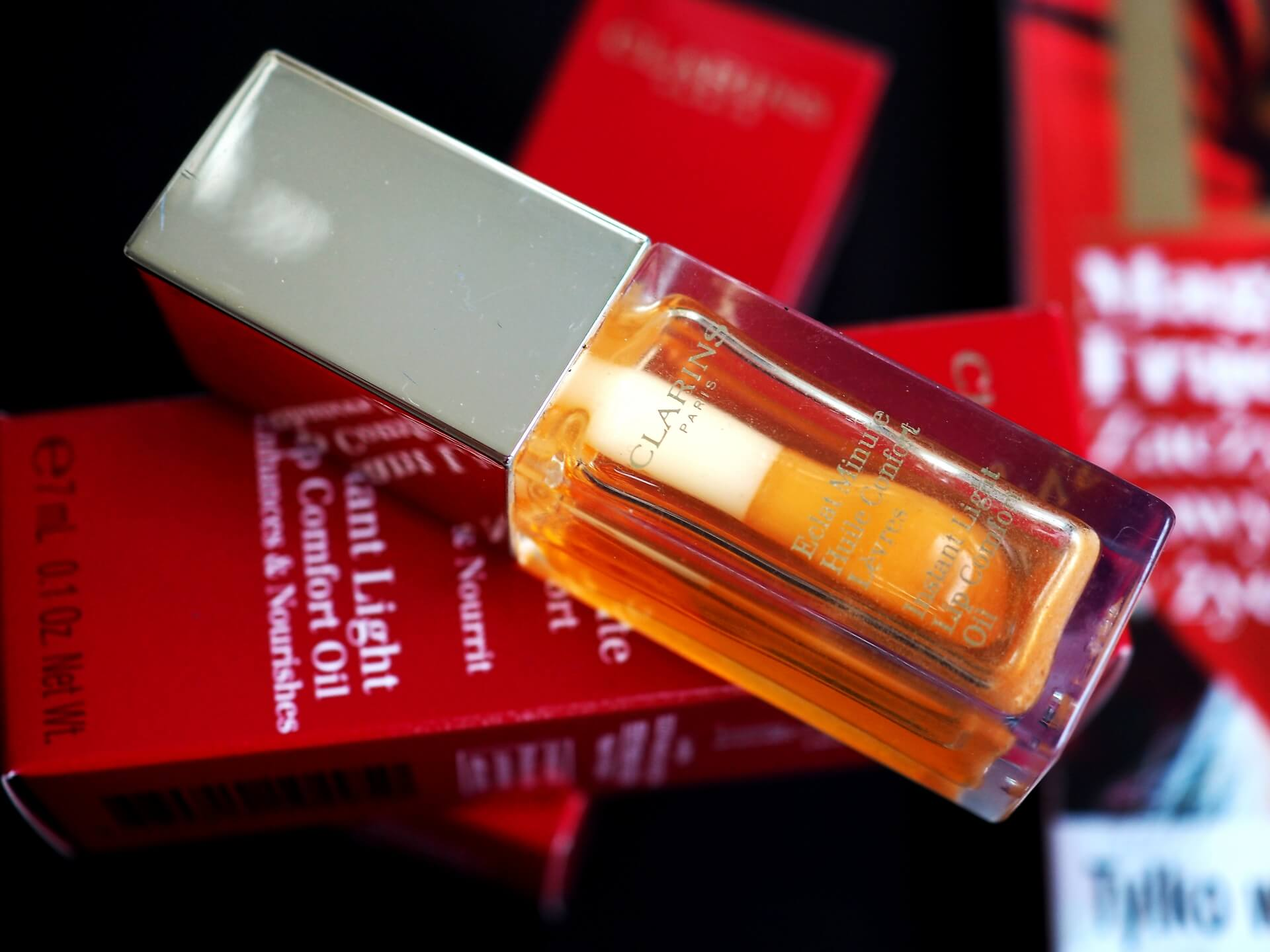 CLARINS HONEY LIP COMFORT OIL