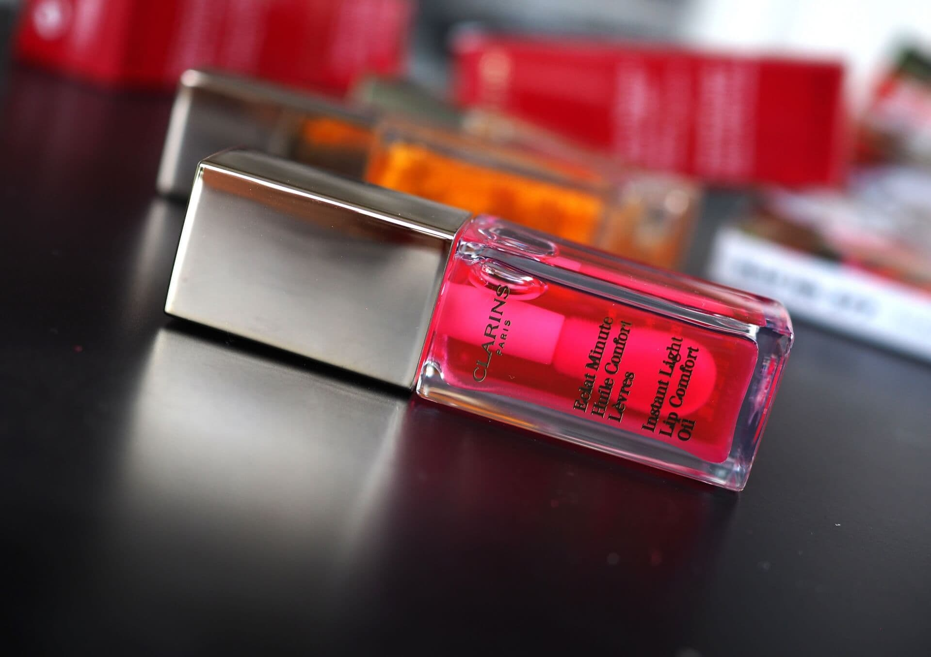 CLARINS CANDY LIP COMFORT OIL
