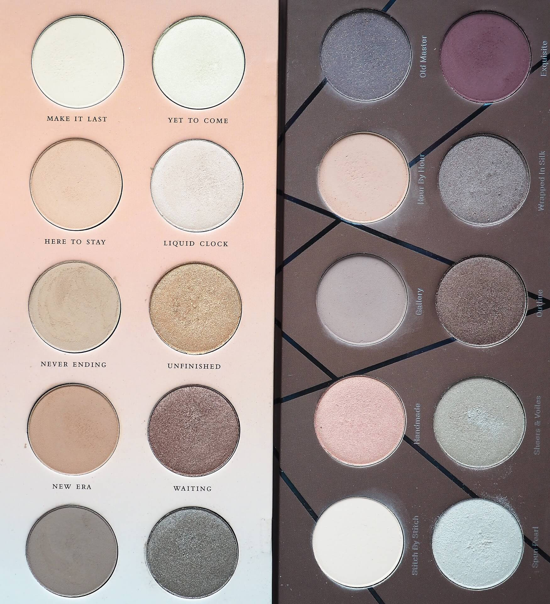 ZOEVA BASIC MONET VS EN TAUPE