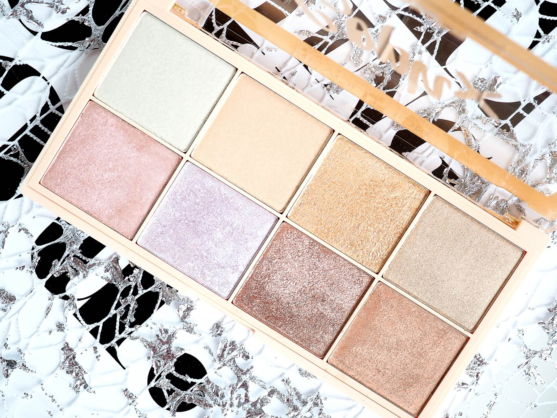 RECENZJA SOPH X MAKEUP REVOLUTION HIGHLIGHTER PALETTE