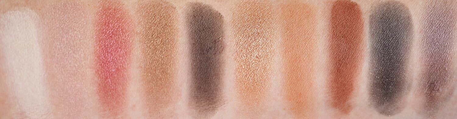 Swatches ZOEVA COCOA BLEND EYESHADOW PALETTE