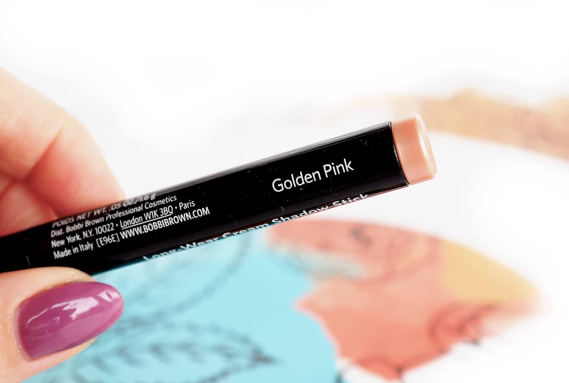 Golden Pink Long Wear Cream Shadow Stick