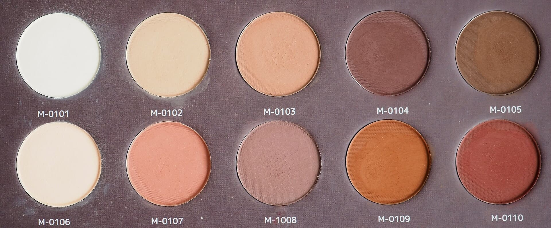 Affect Naturally Matt Eyeshadows Palette