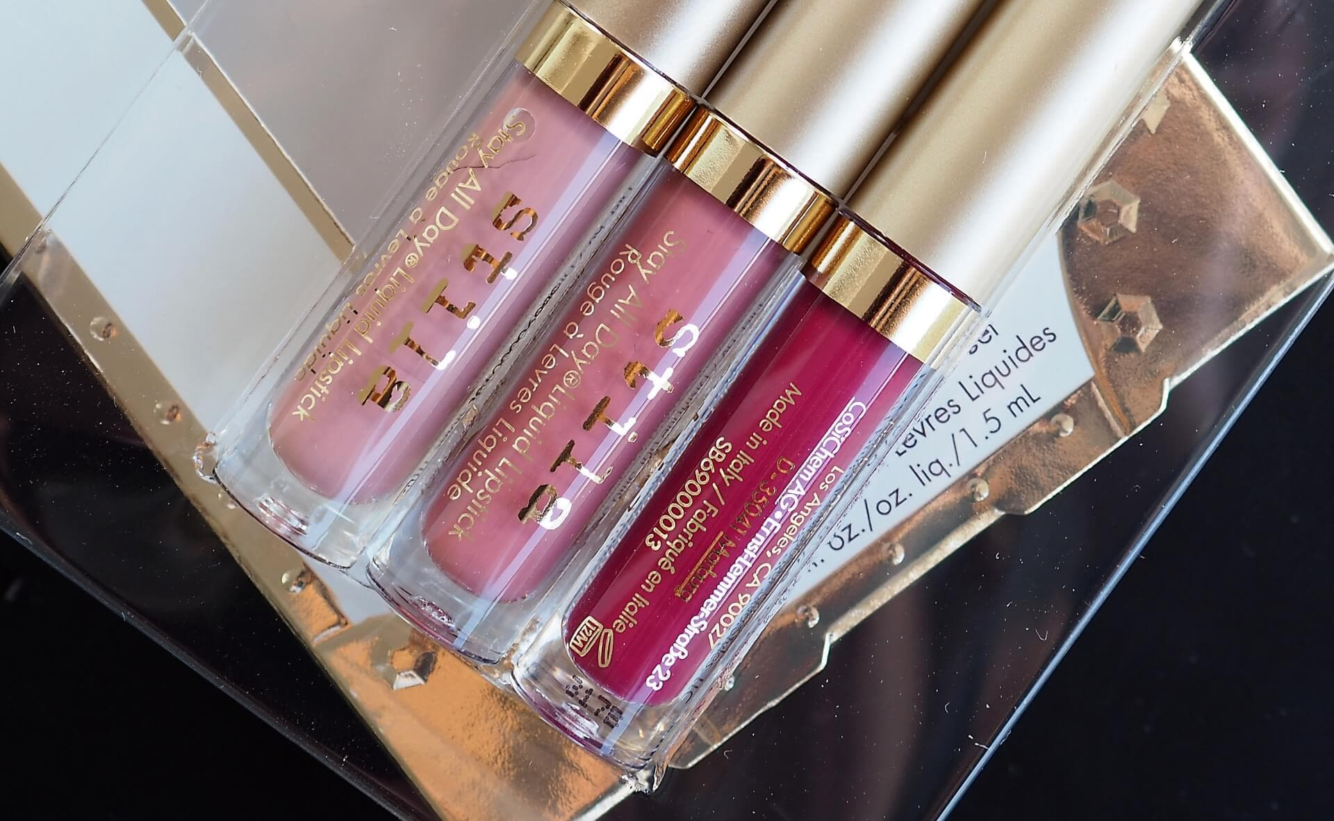 RECENZJA STILA STAY ALL DAY LIQUID LIPSTICK