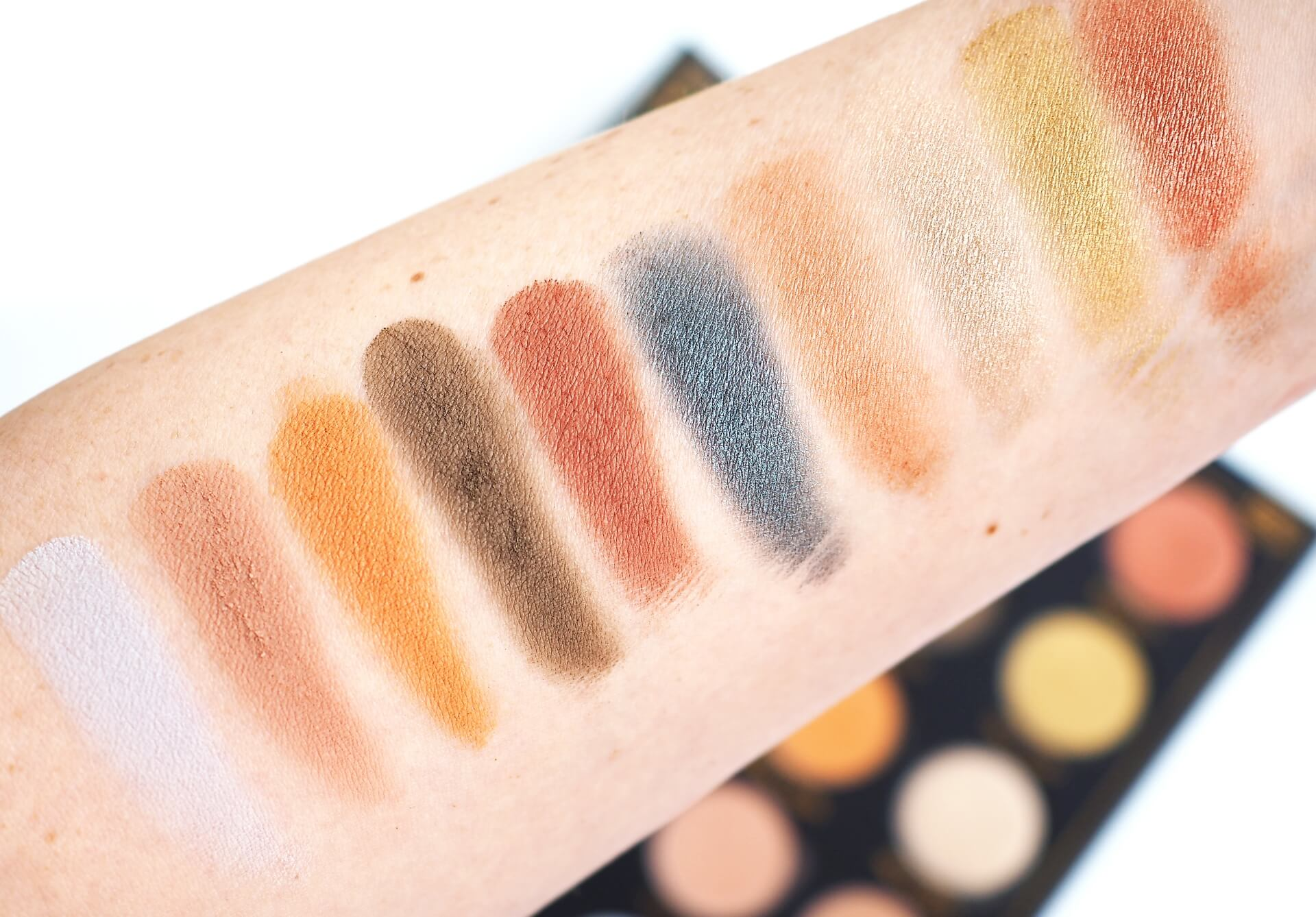 swatches Zoeva Aristo Eyeshadow Palette