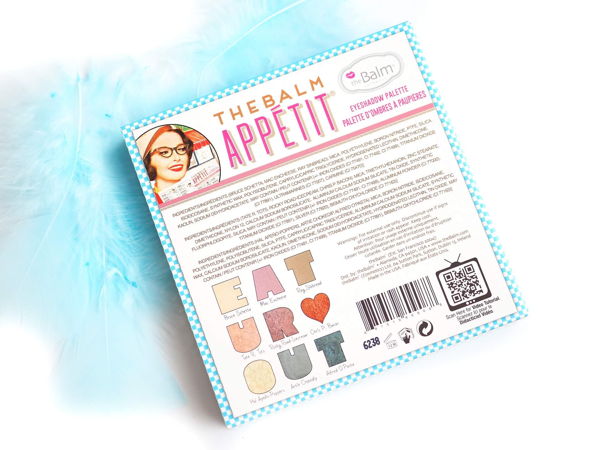 theBalm Appetite Eyeshadow Palette