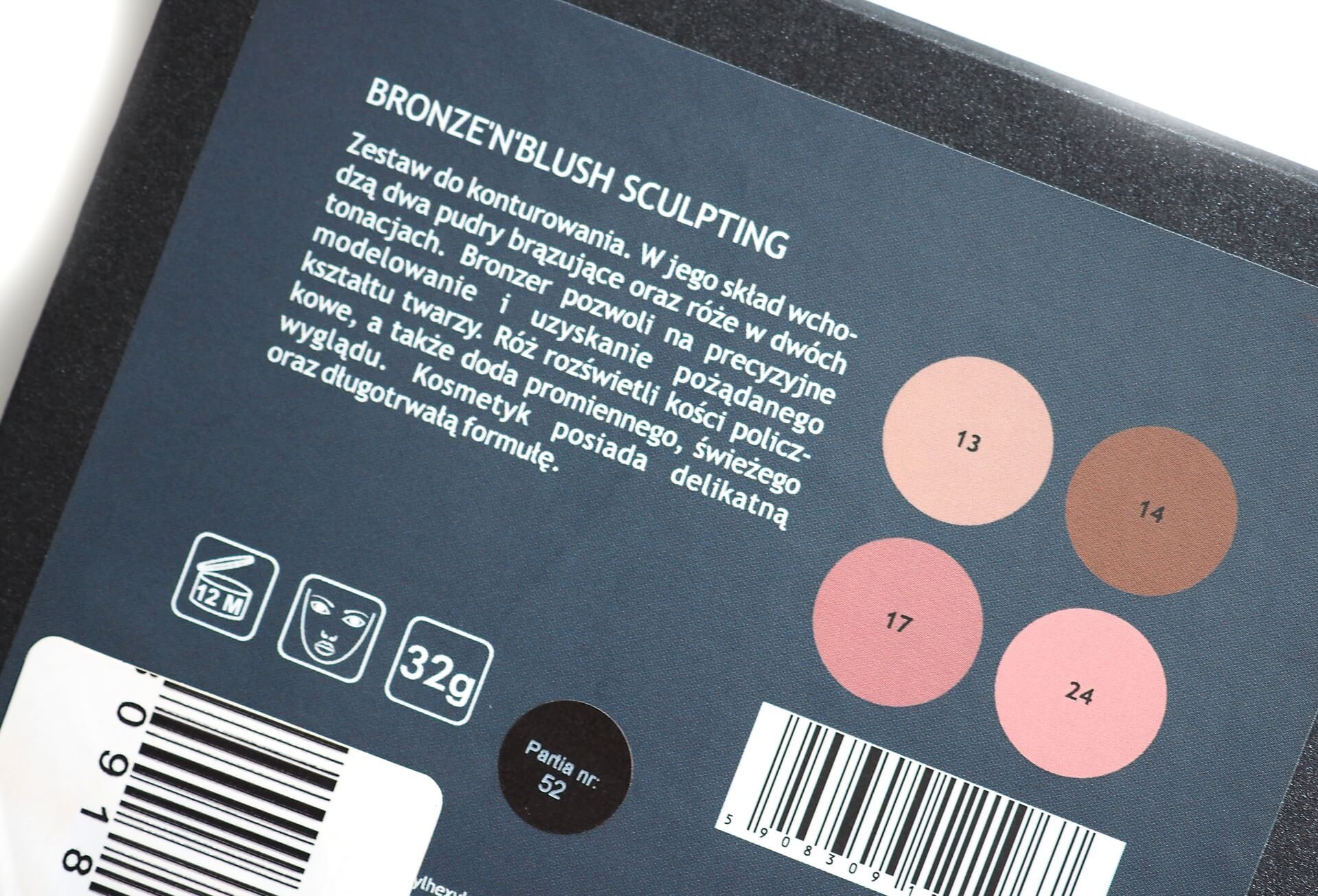 Kobo Bronze'n'Blush Sculpting