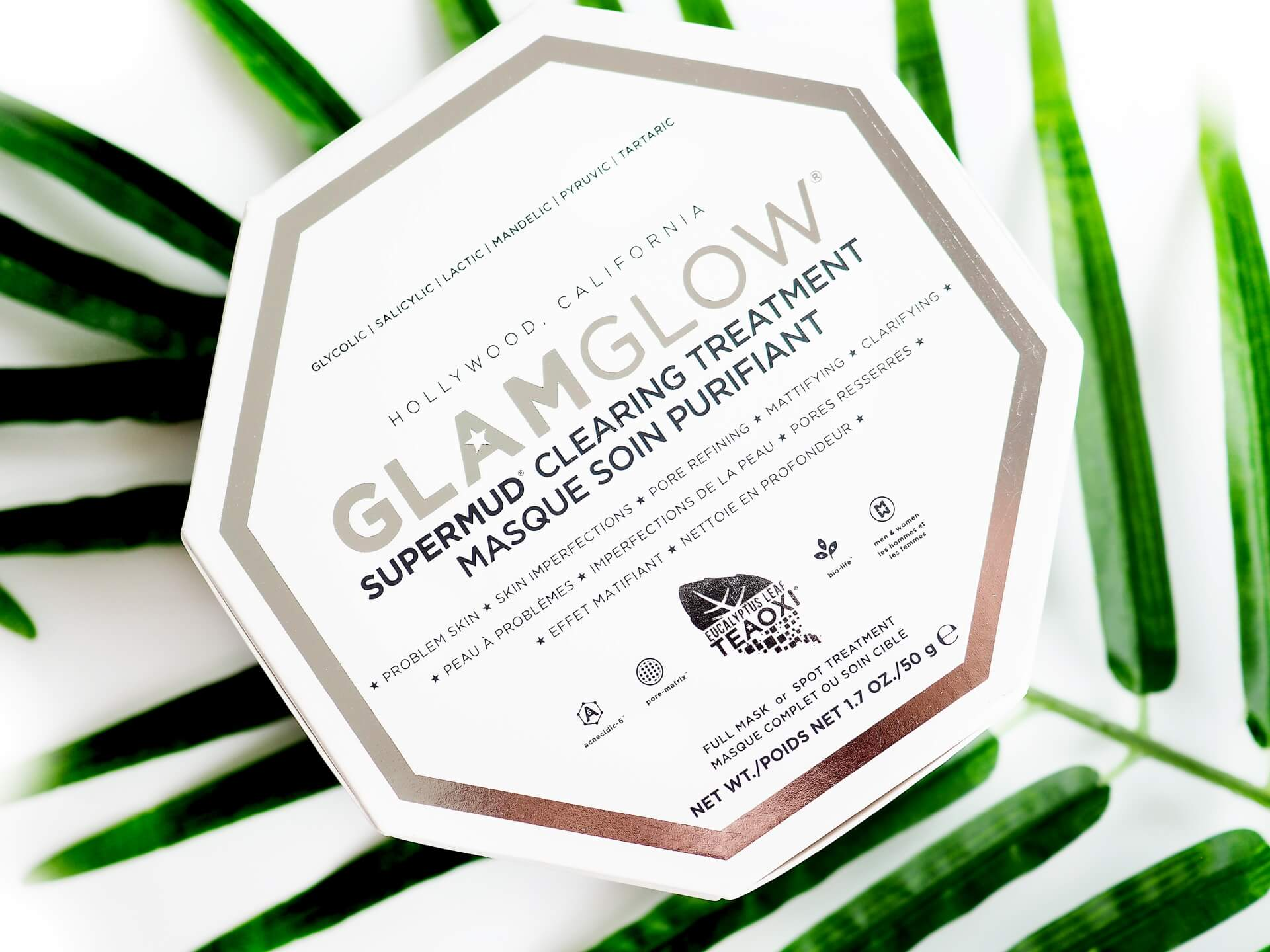 Recenzja Glamglow Supermud Clearing Treatment