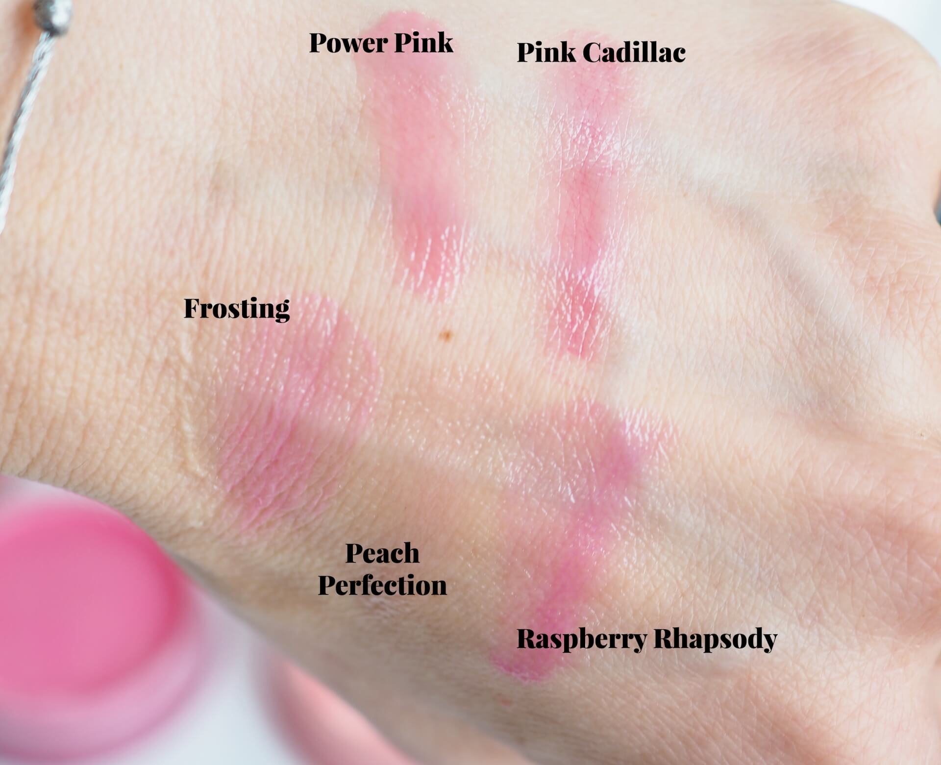 swatches Sleek Make Up Pout Polish SPF15