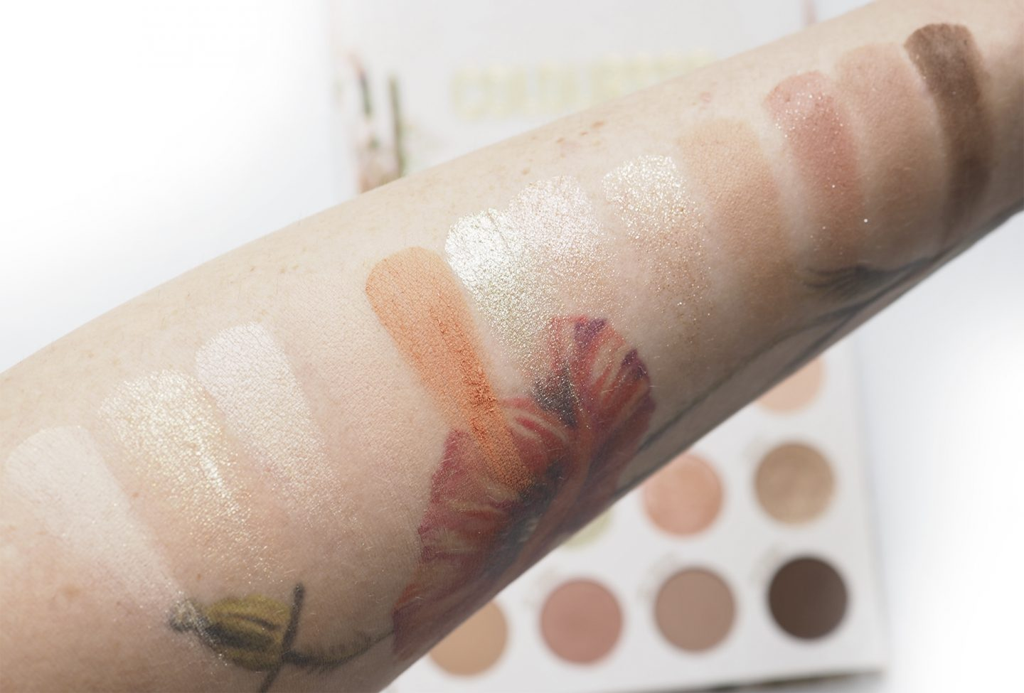 Swatches Colourpop Wild Thing