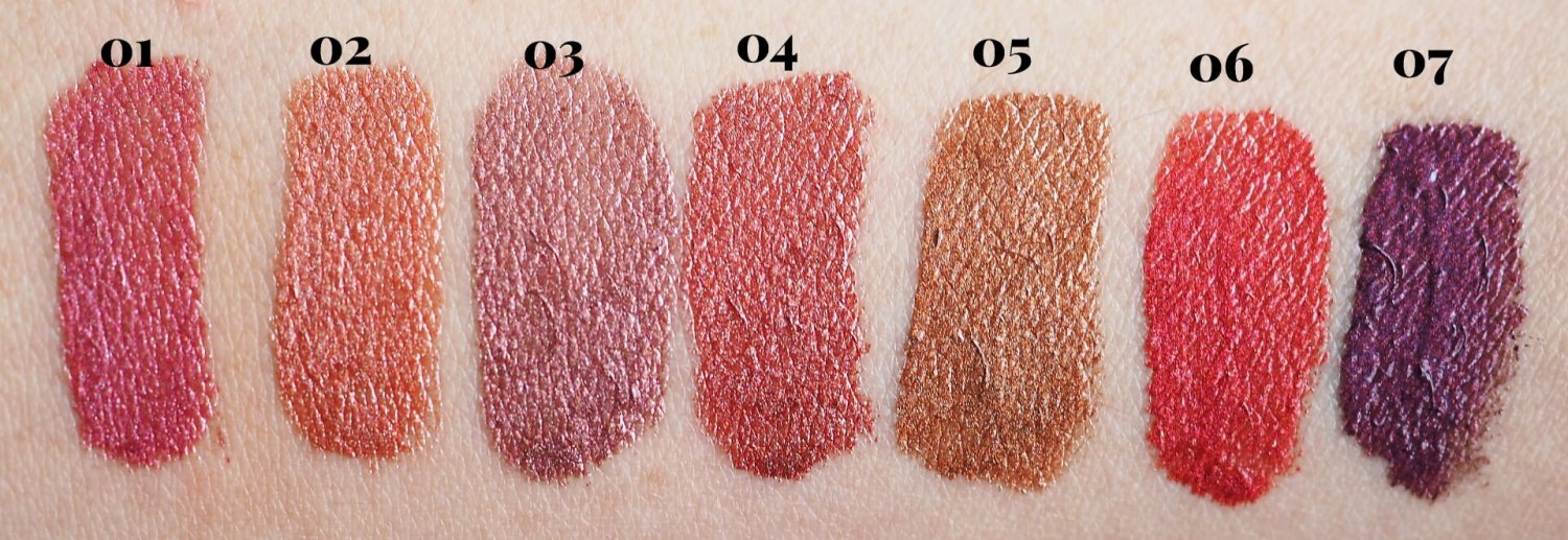 Swatches Golden Rose Metals Metallic Shine Lipgloss