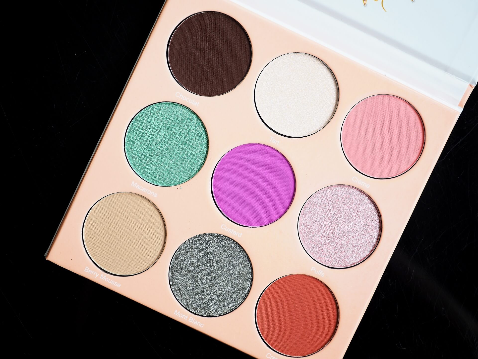 recenzja Juvia's Place The Douce Eyeshadow Palette