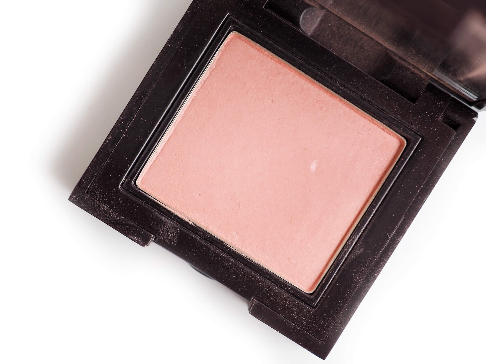 recenzja Laura Mercier Barely Pink Secon Skin Cheek Colour