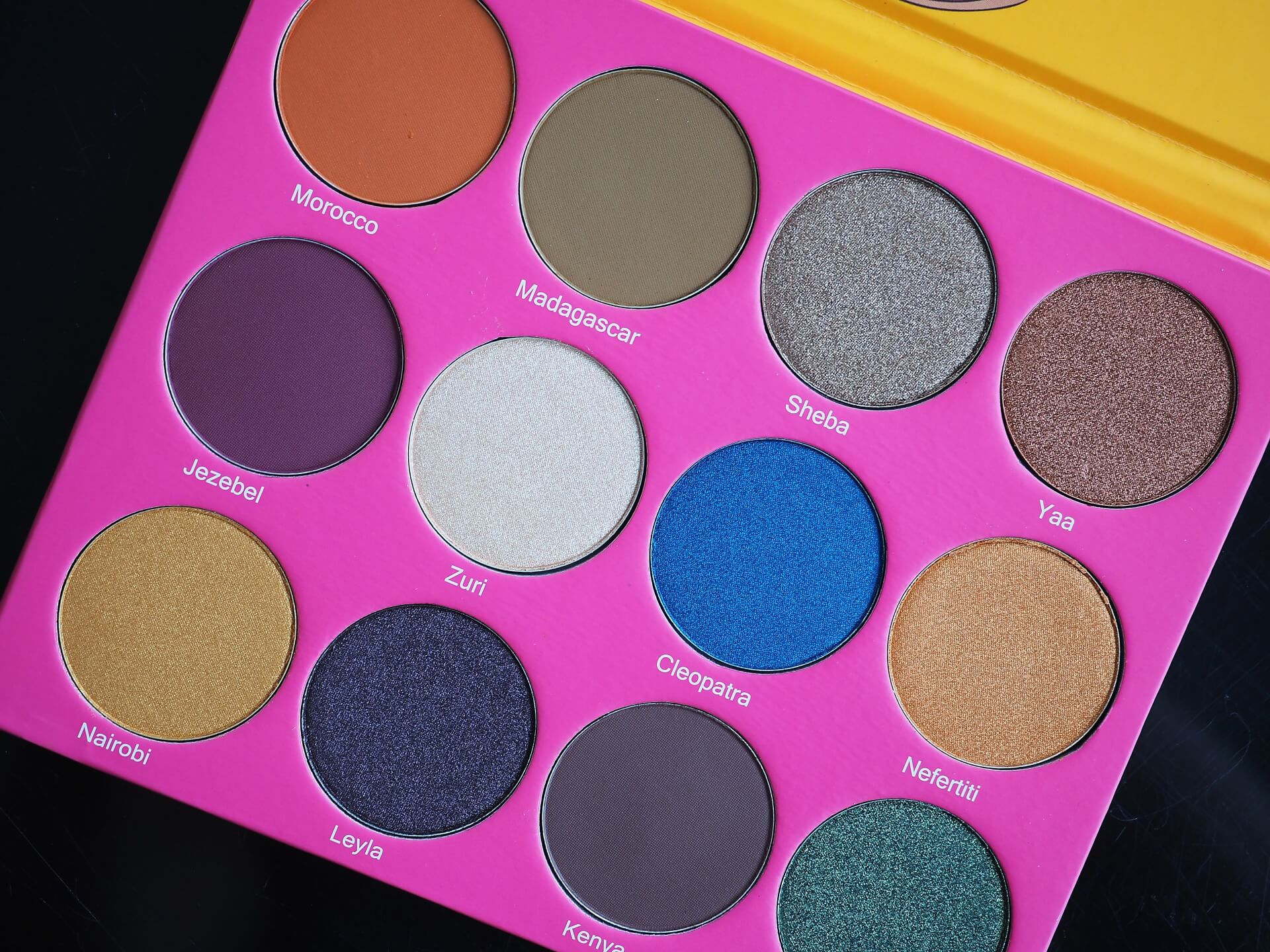 opinia Juvia's Place The Nubian 2 Eyeshadow Palette