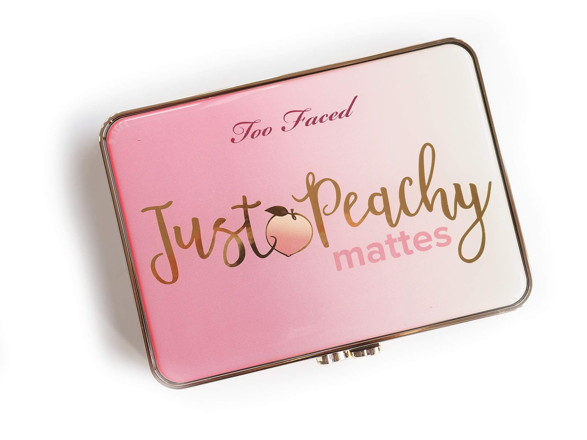 opinia Too Faced Just Peachy Mattes